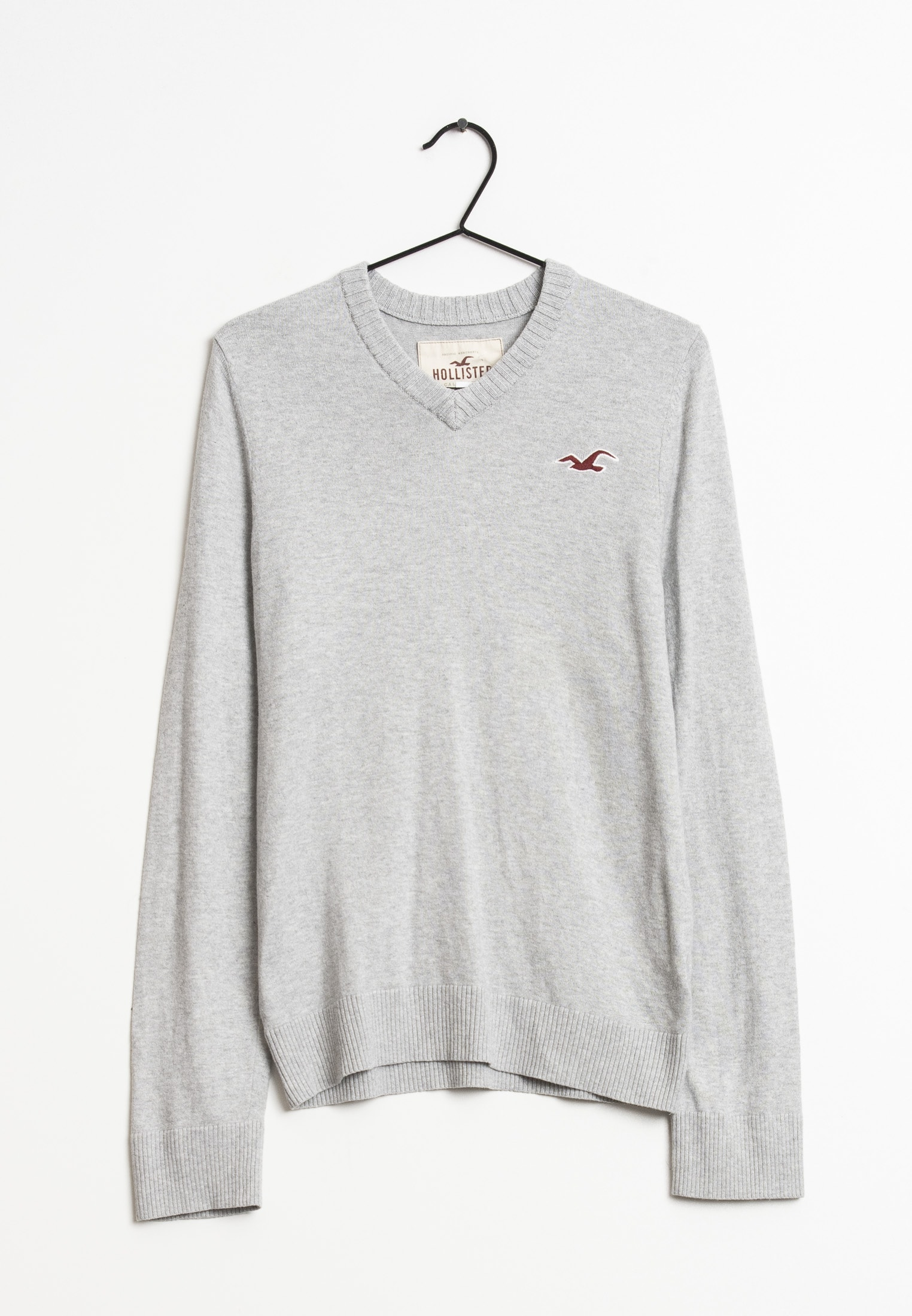 Hollister Co. Strickpullover Grau Gr.XL