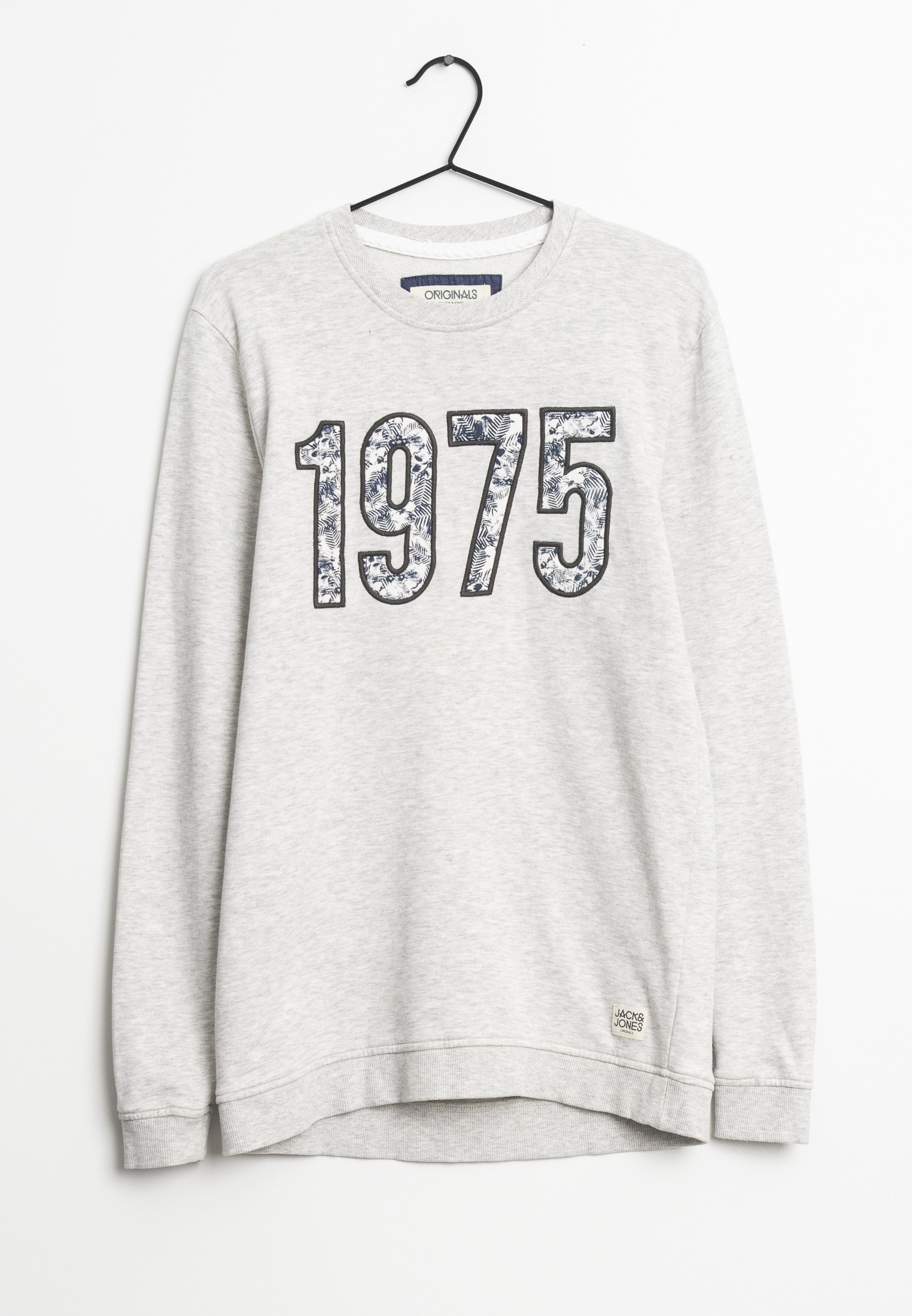 Jack & Jones Sweatshirt / Fleecejacke Grau Gr.S