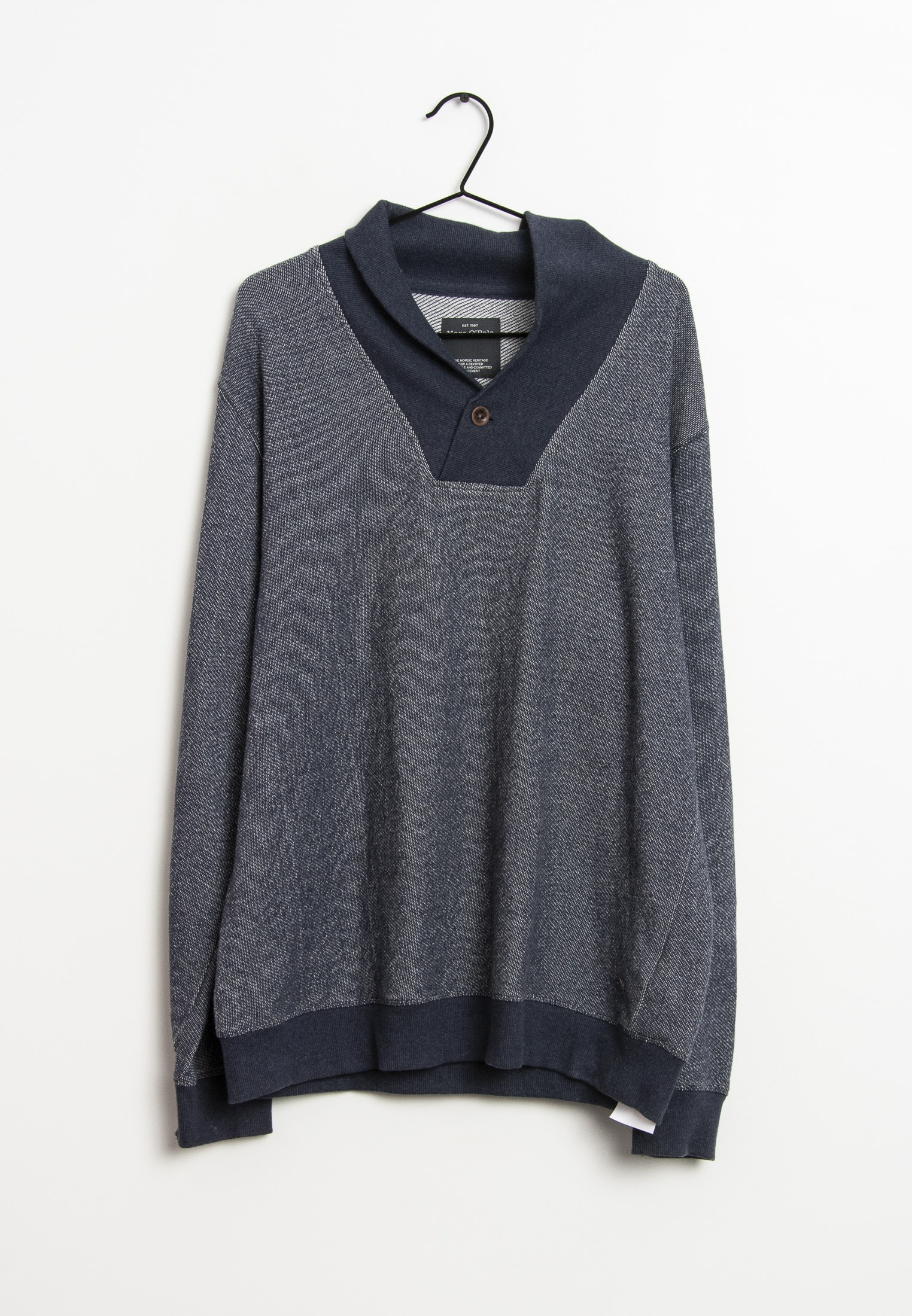 Marc O'Polo Sweat / Fleece Blau Gr.XL