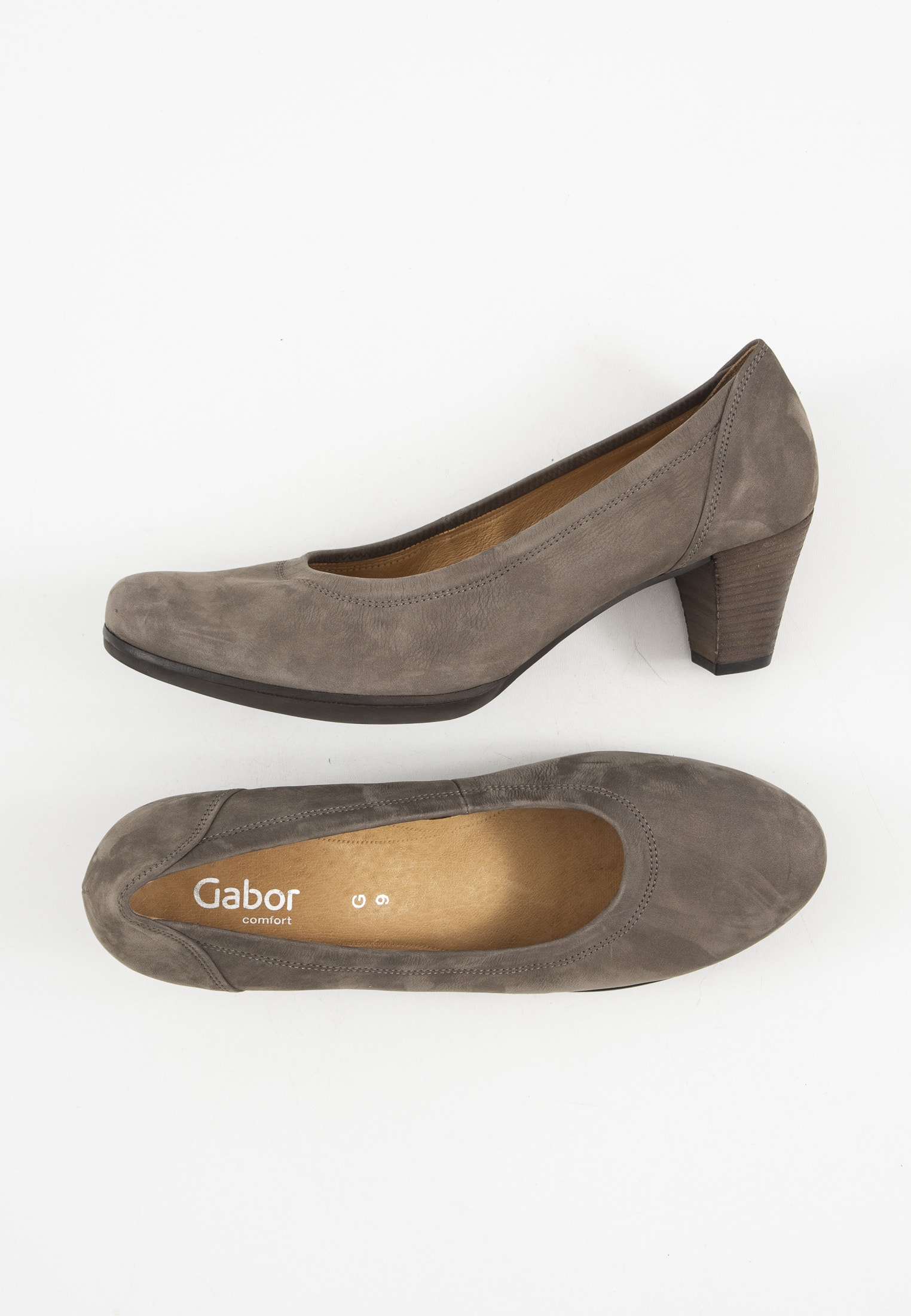 Gabor pumps, brun, 39.5