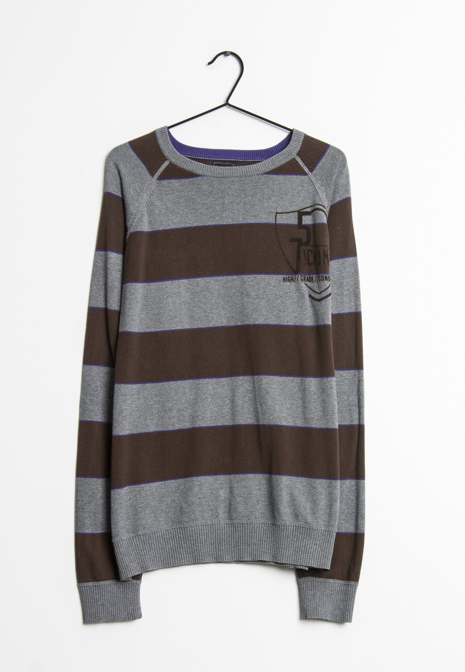 Jack & Jones Strickpullover Grau Gr.XL