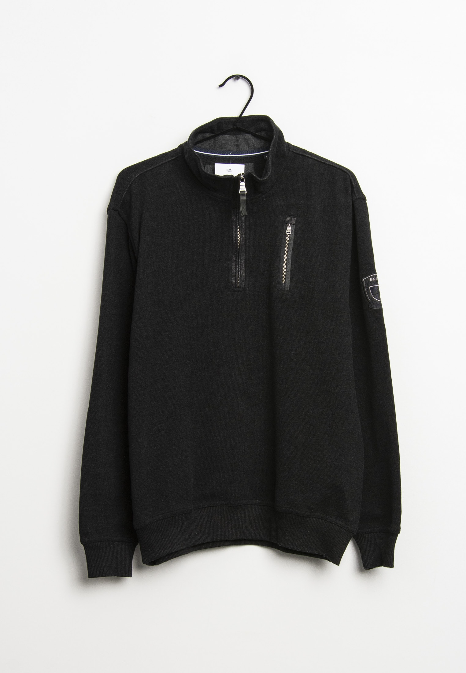 BRAX Sweat / Fleece Schwarz Gr.L