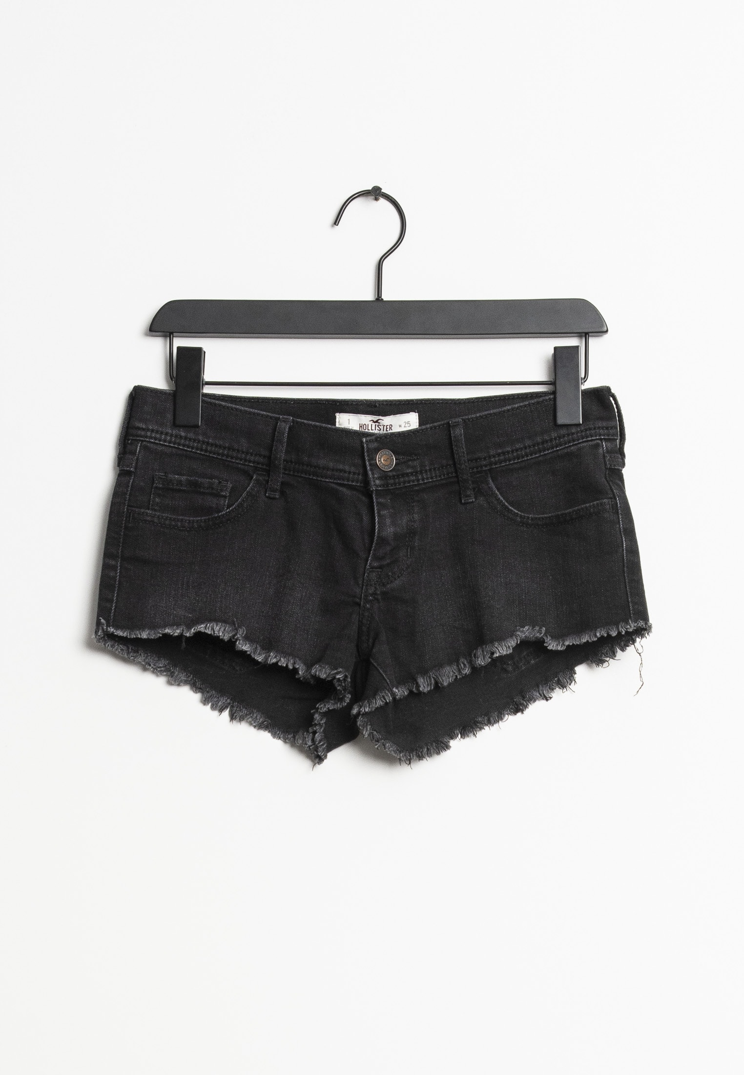 Hollister Co. shorts, sort, 25