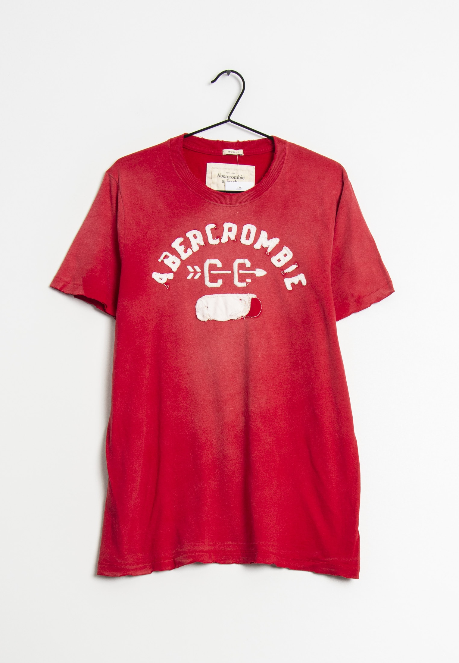 Abercrombie & Fitch T-Shirt Rot Gr.XXL