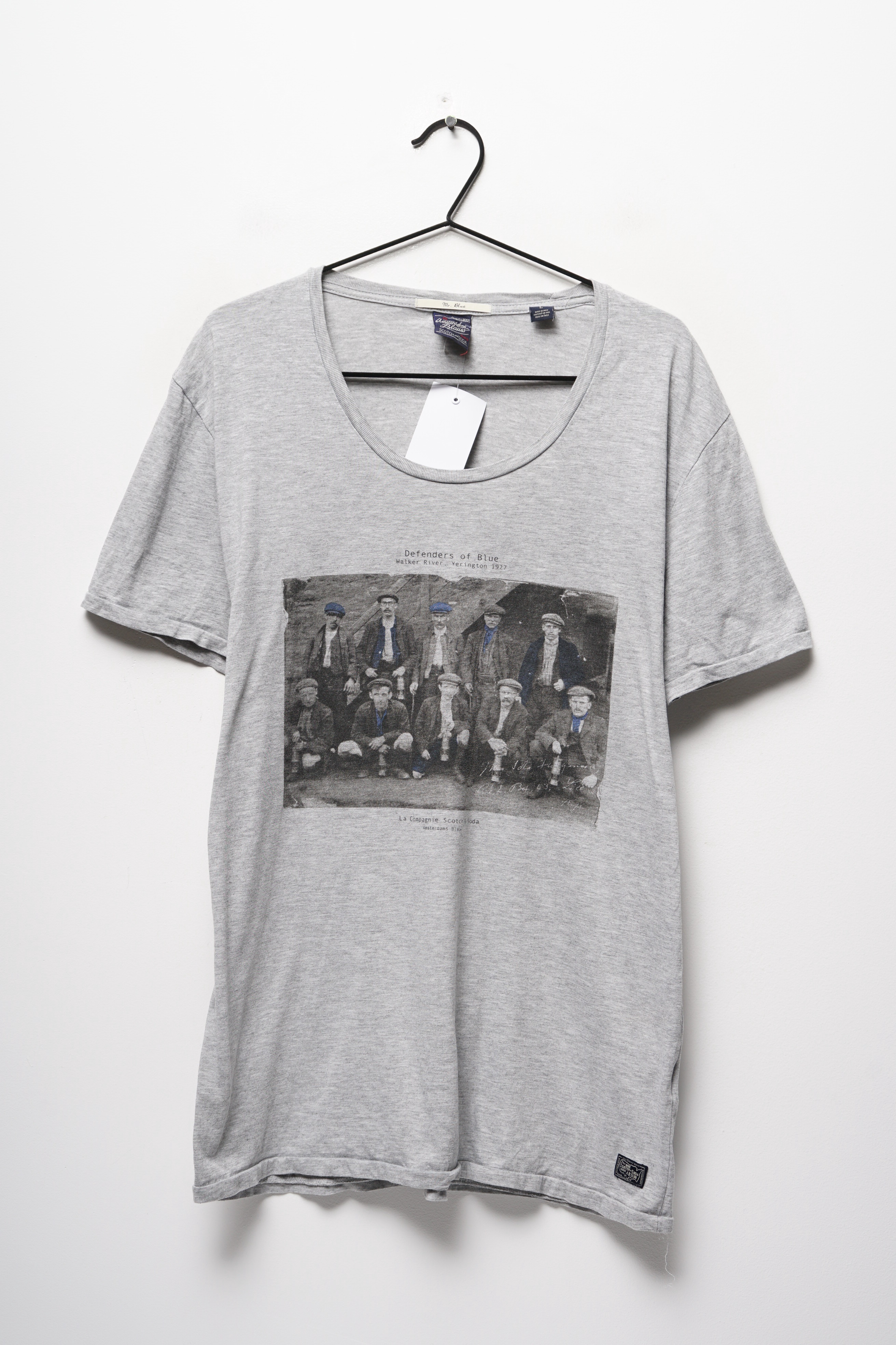 Scotch & Soda T-Shirt Grau Gr.L