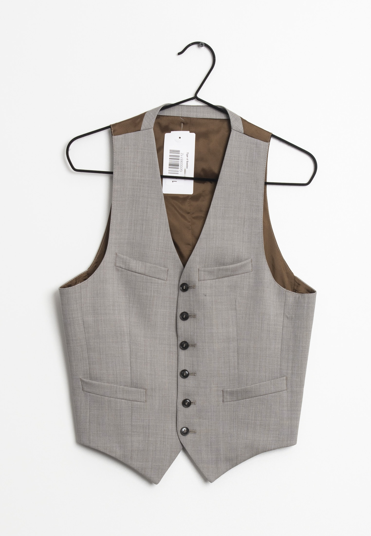 Tiger of Sweden vest, brun, 44