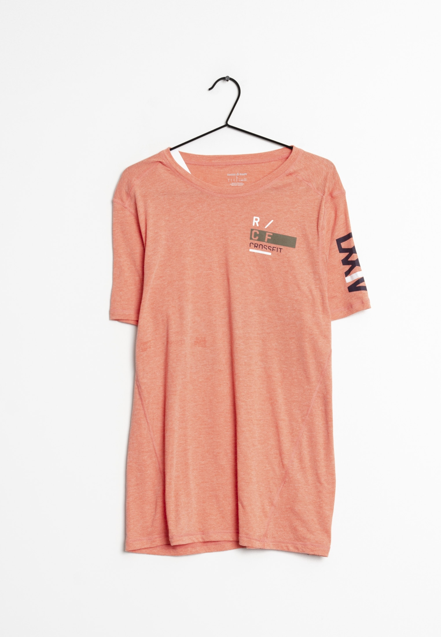 Reebok T-Shirt orange Gr.L