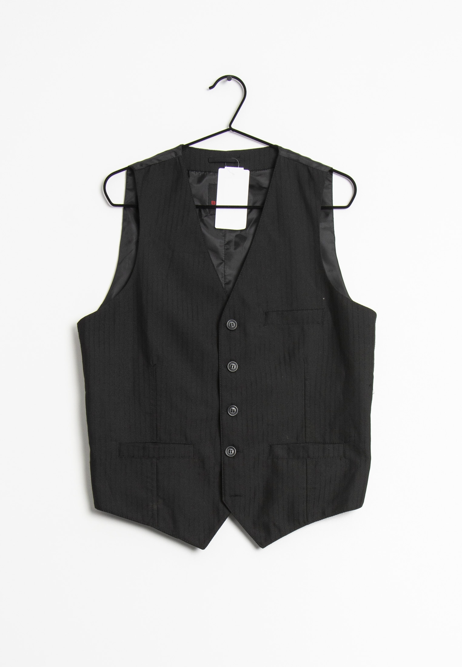 Burton Menswear London vest, sort, M