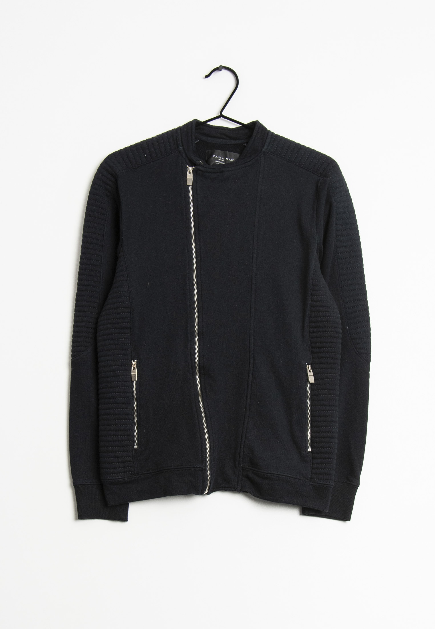 Zara Sweat / Fleece Blau Gr.M