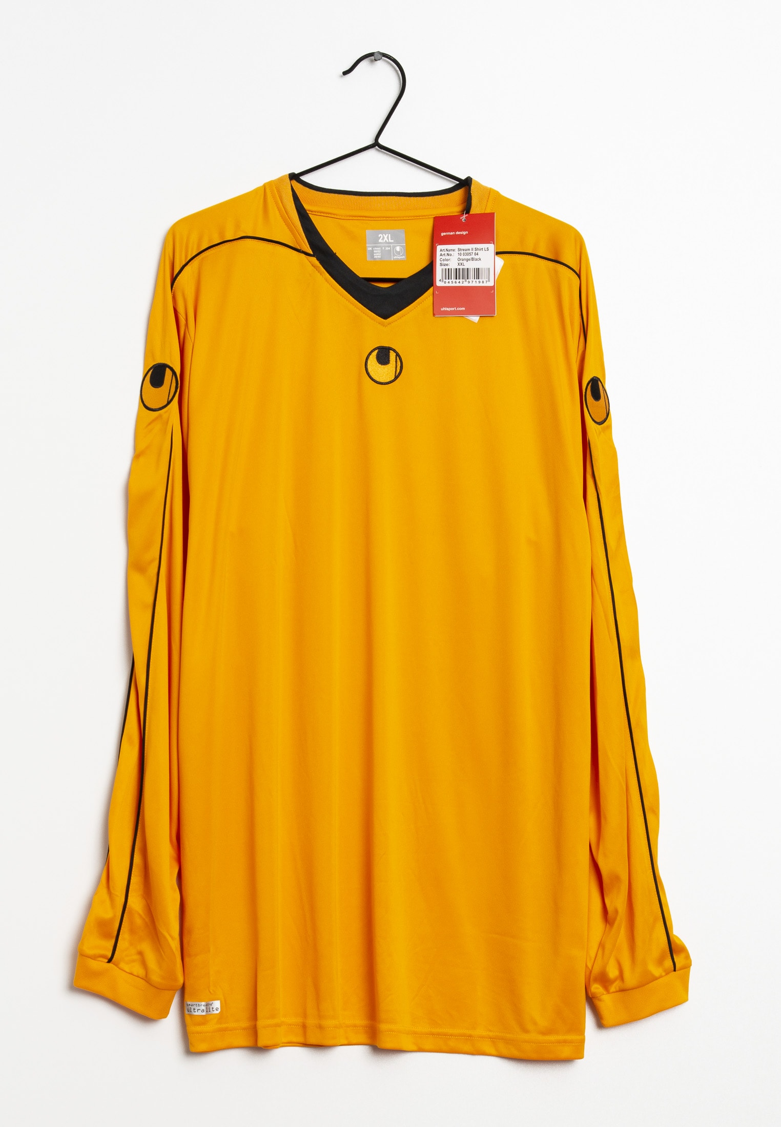 Uhlsport Langarmshirt orange Gr.XXL