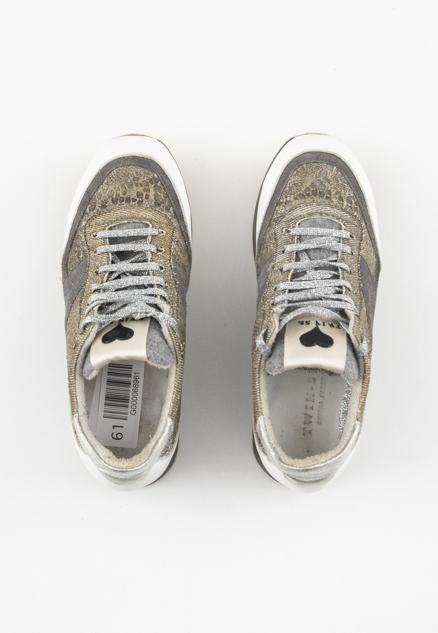TWINSET sneakers, gold, 37
