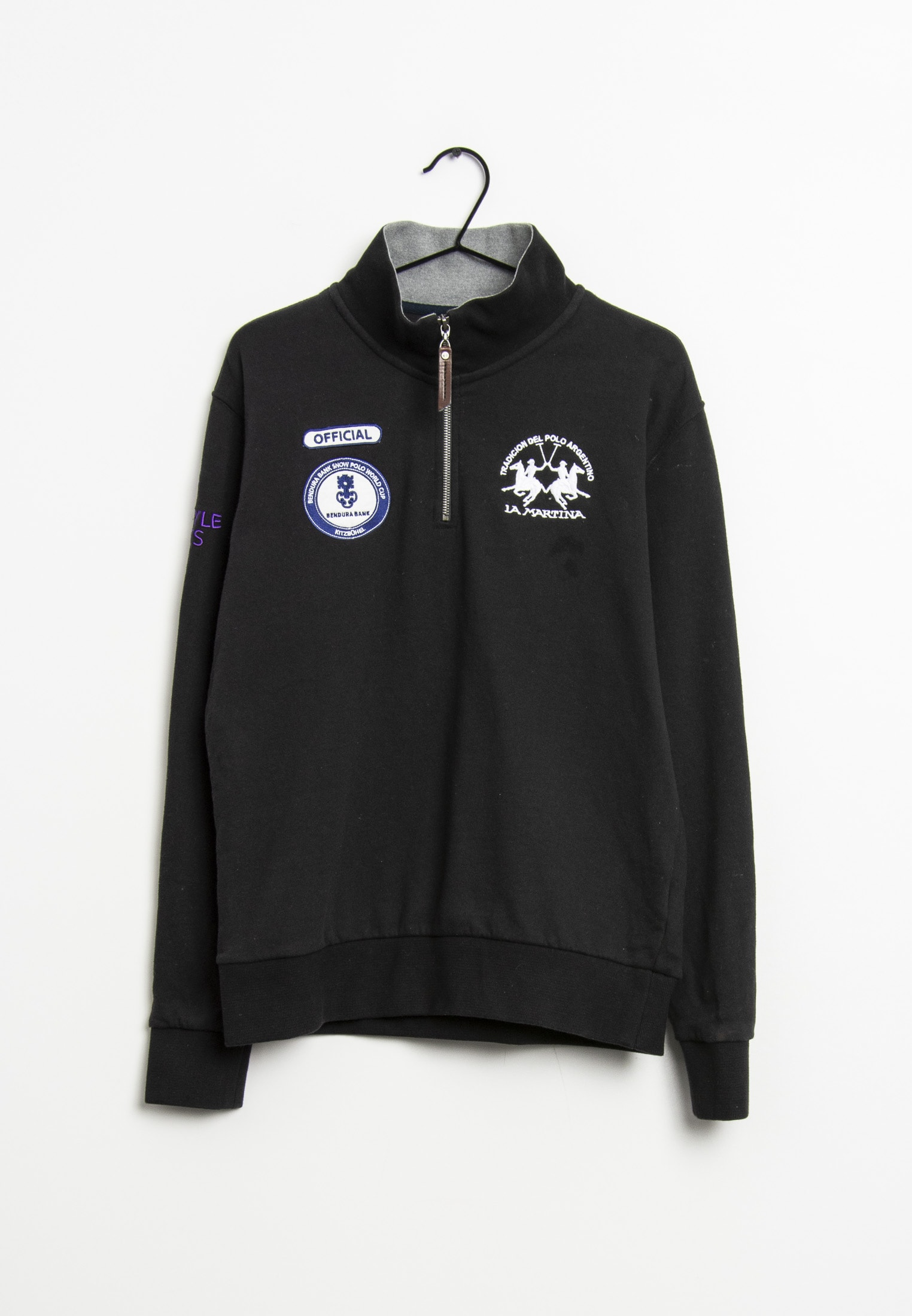 La Martina Sweat / Fleece Schwarz Gr.L