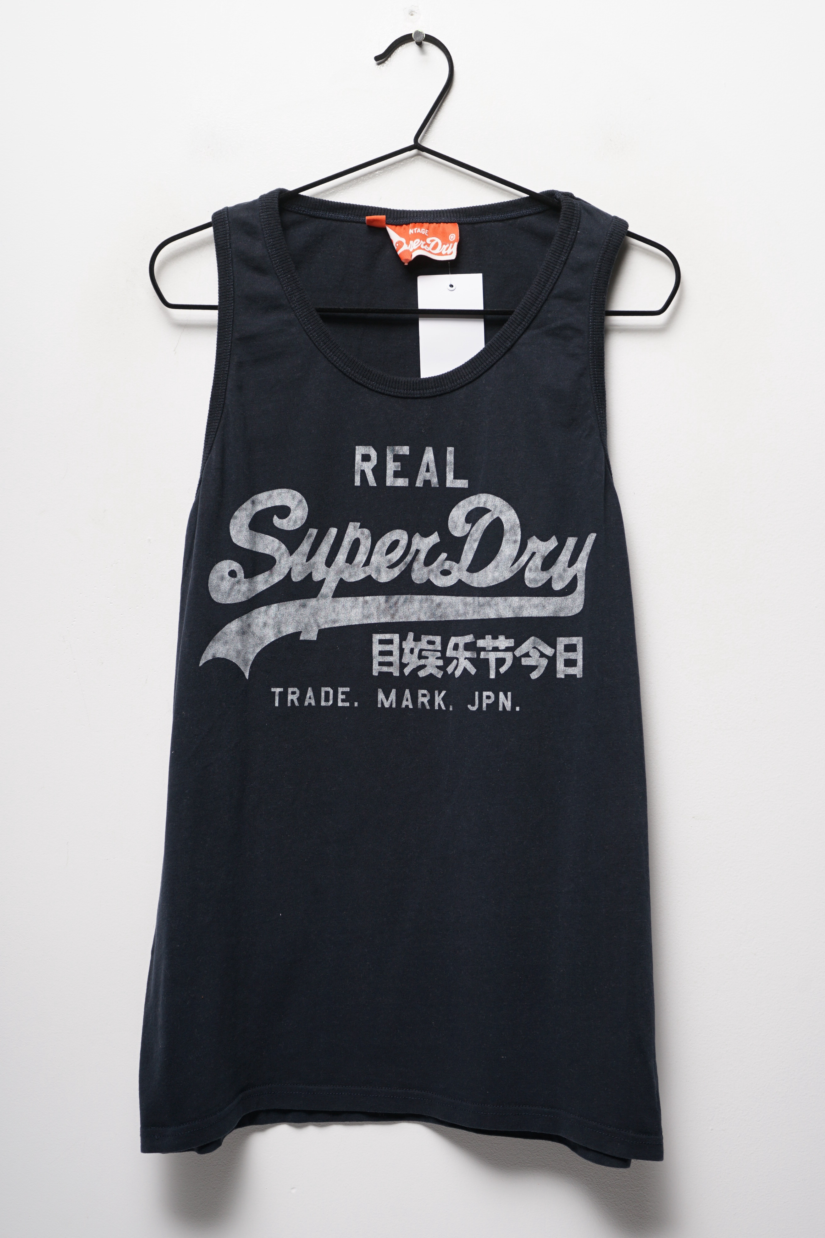 Superdry Top Schwarz Gr.L