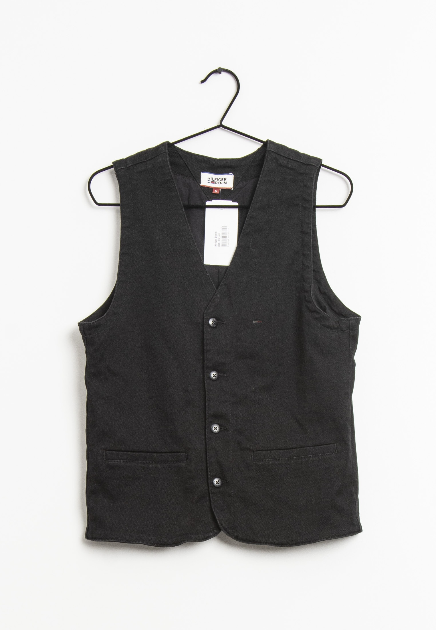 Hilfiger Denim vest, sort, S