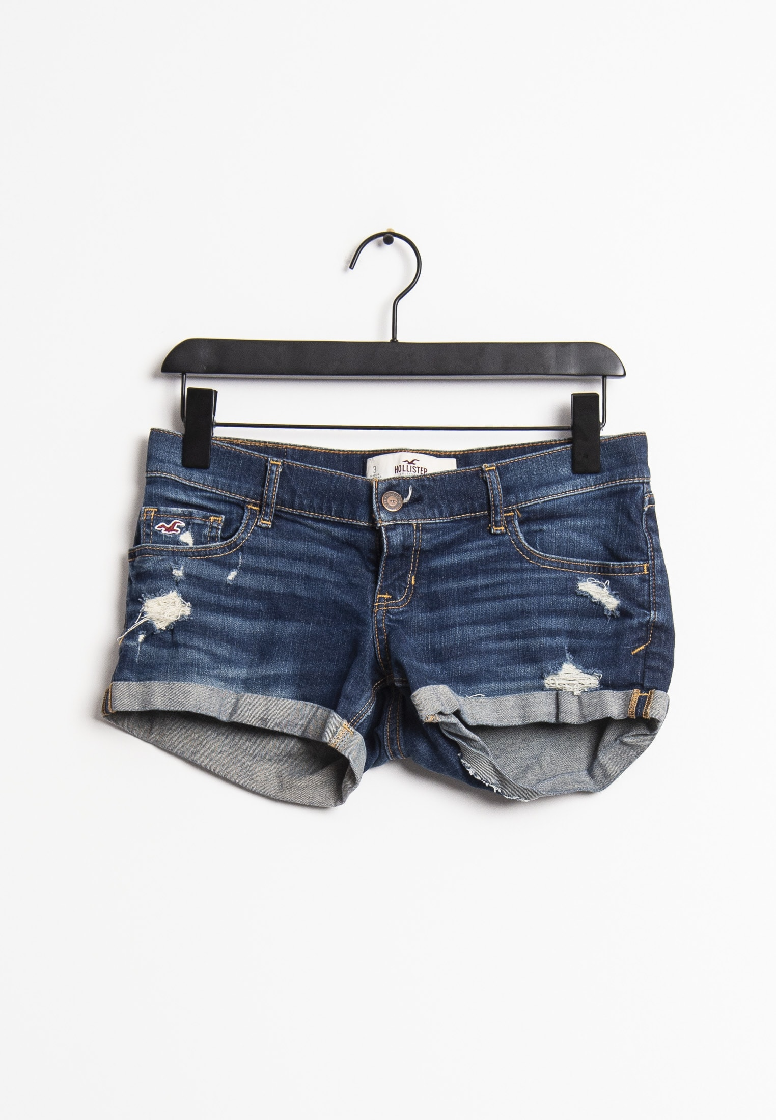 Hollister Co. shorts, blå, 26