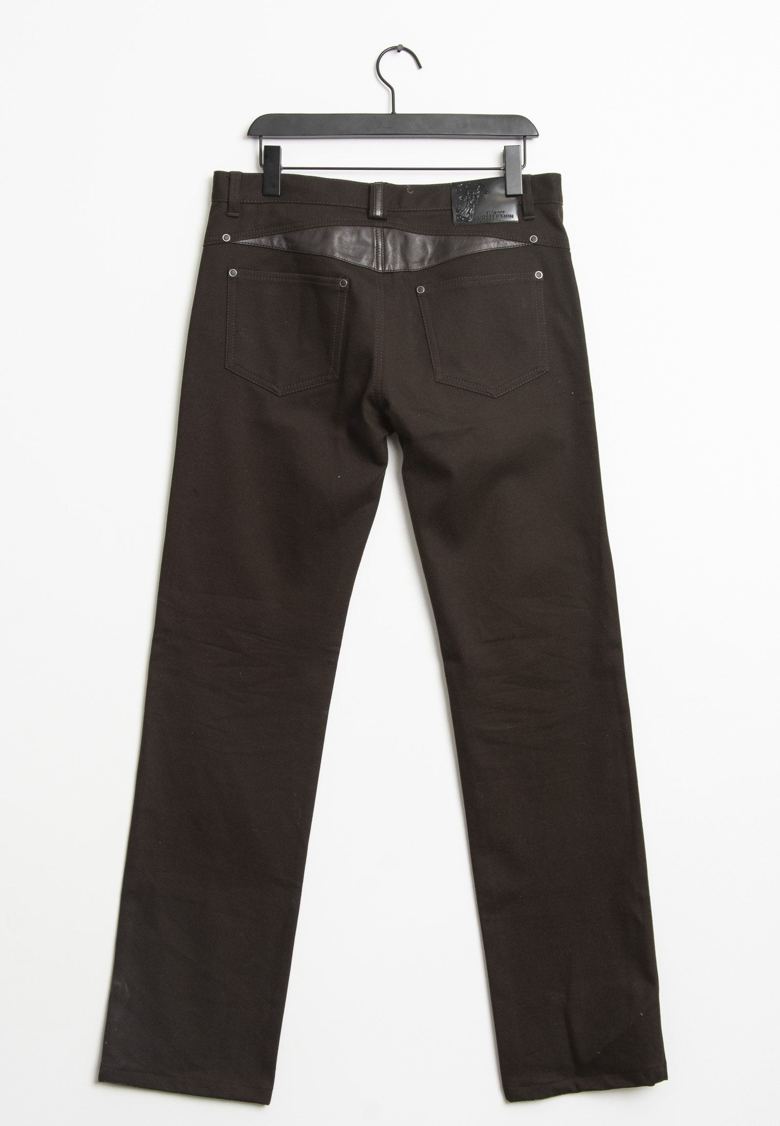 Versace Collection Stoffhose Braun Gr.34