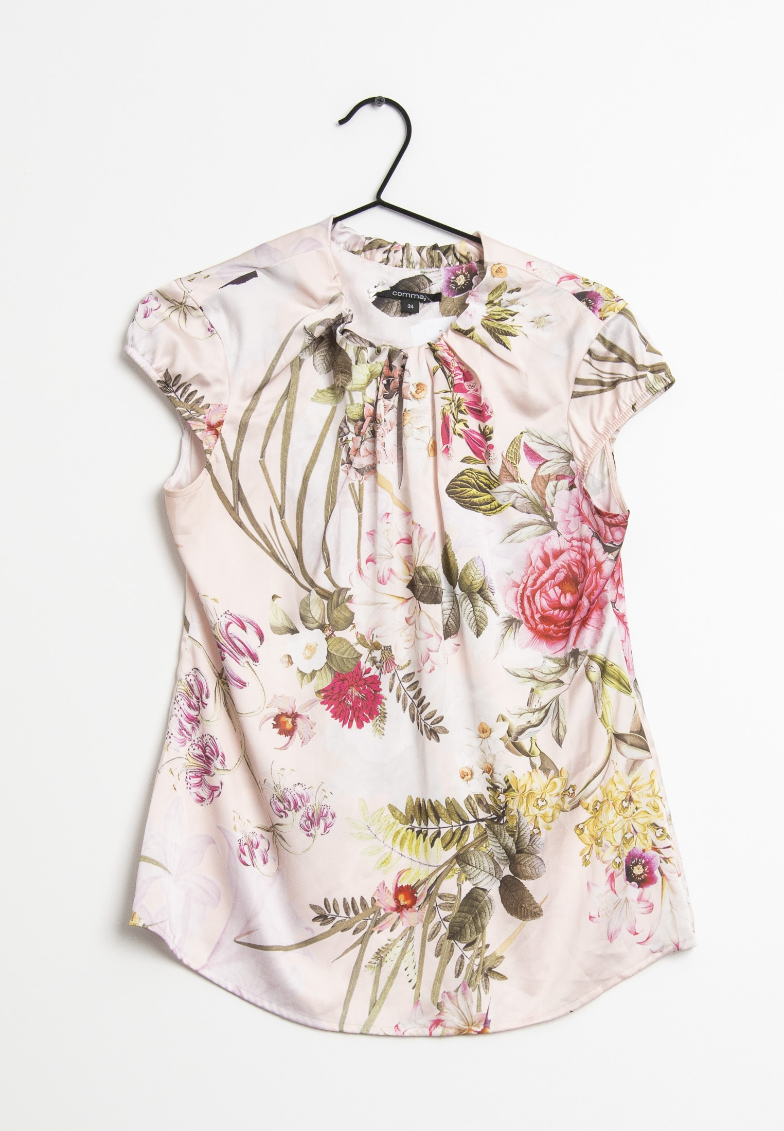 comma Bluse Pink Gr.34