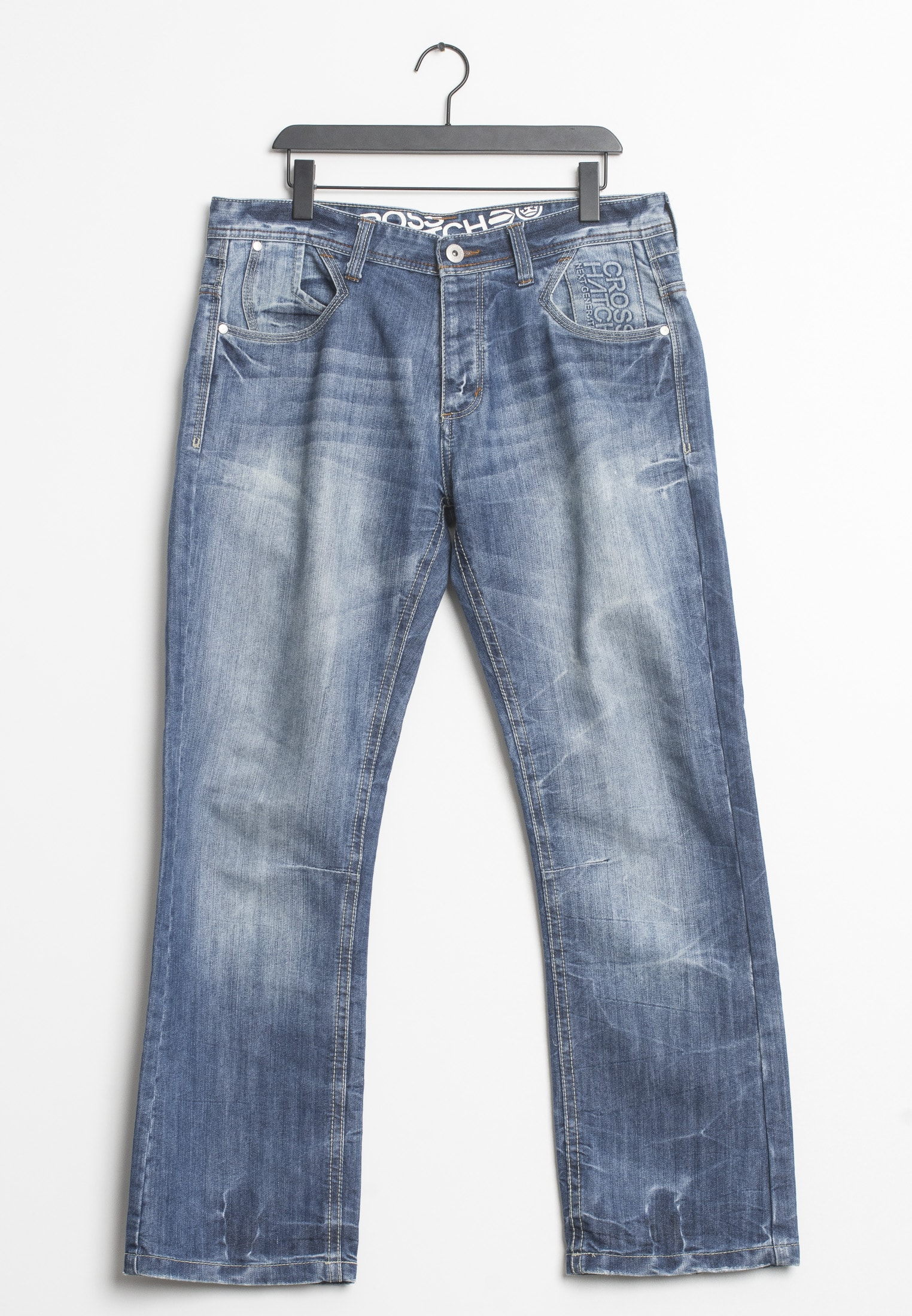 CROSSHATCH jeans, blå, W38 L32