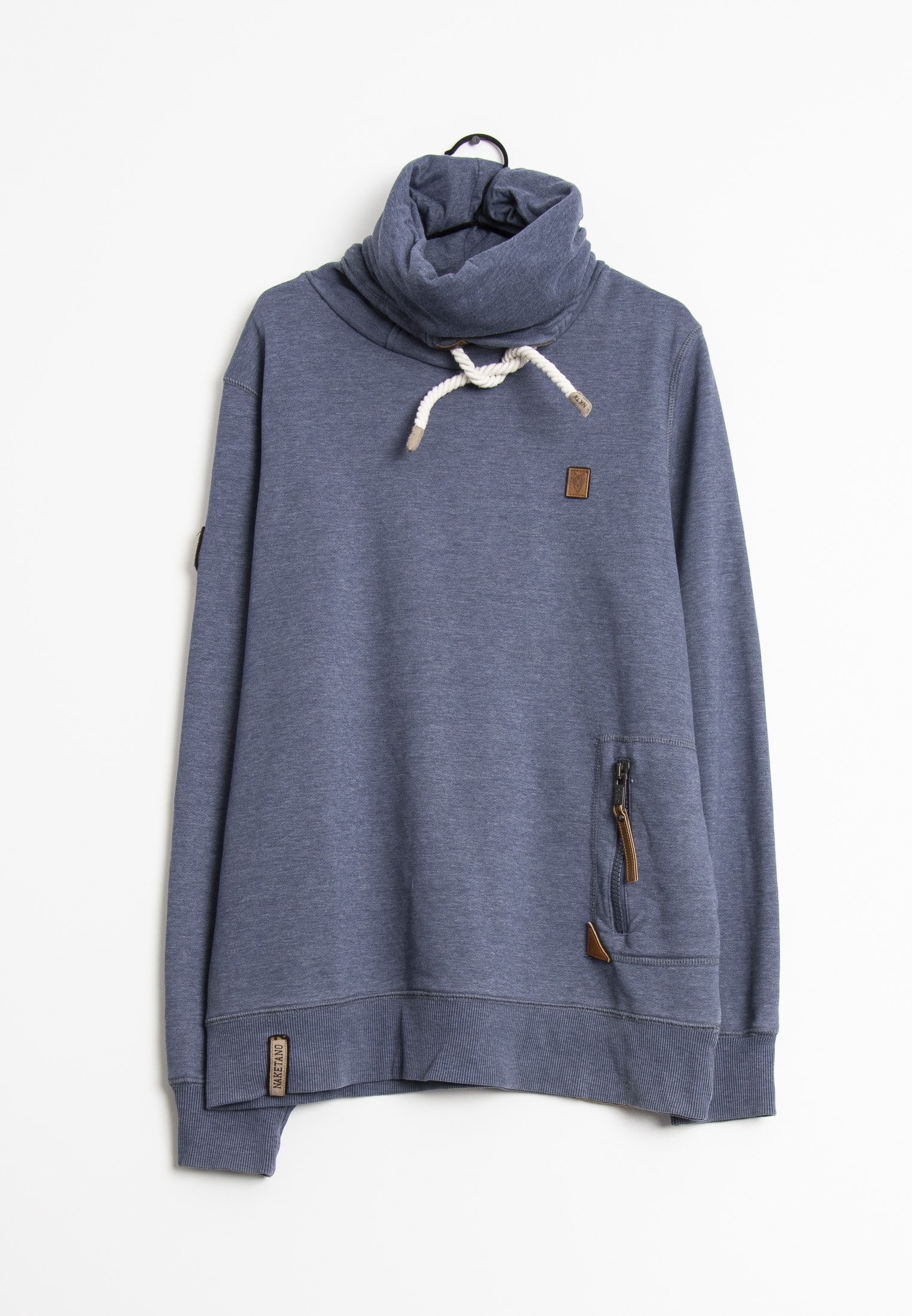 Naketano Sweat / Fleece Blau Gr.XL