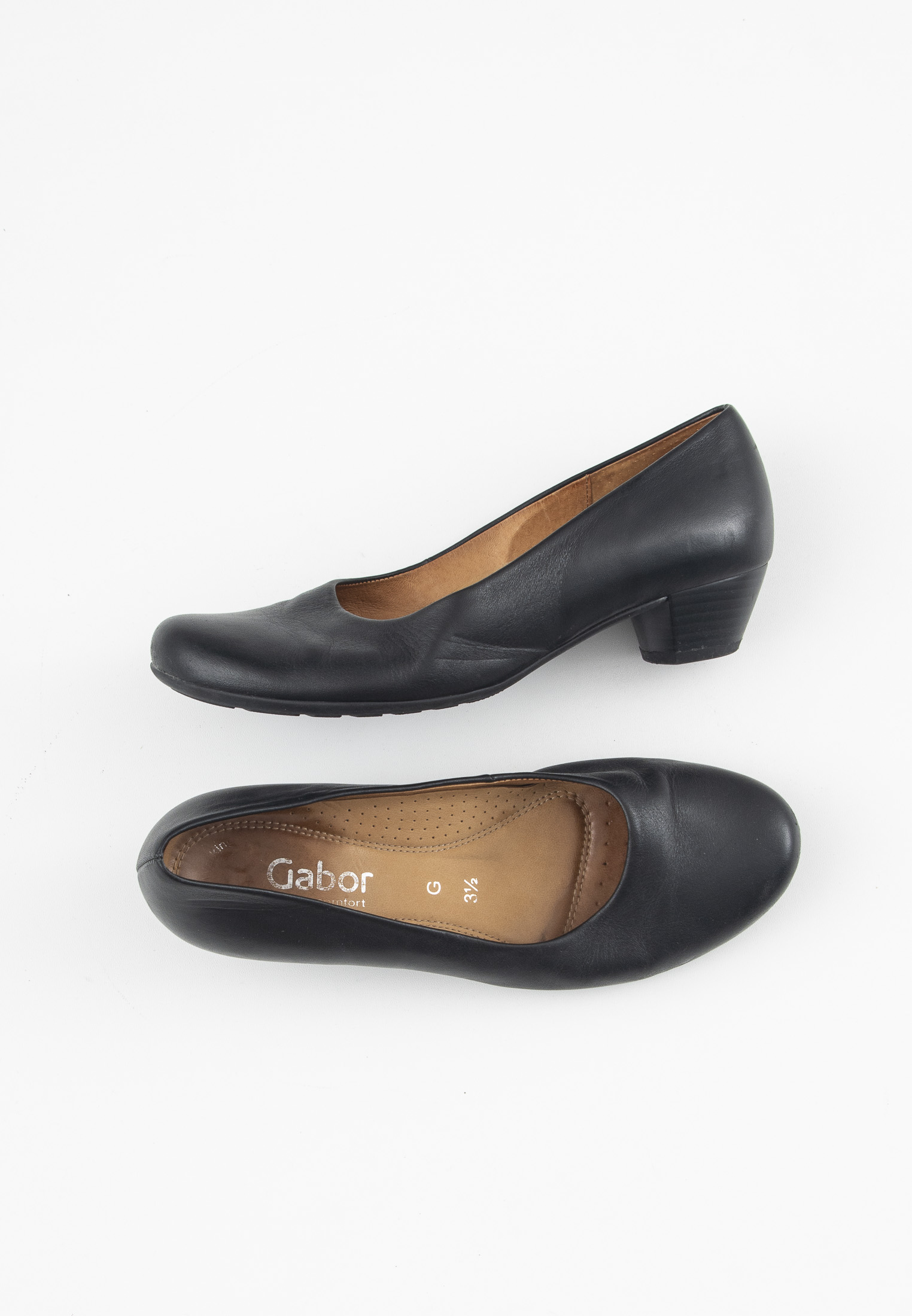 Gabor pumps, sort, 36