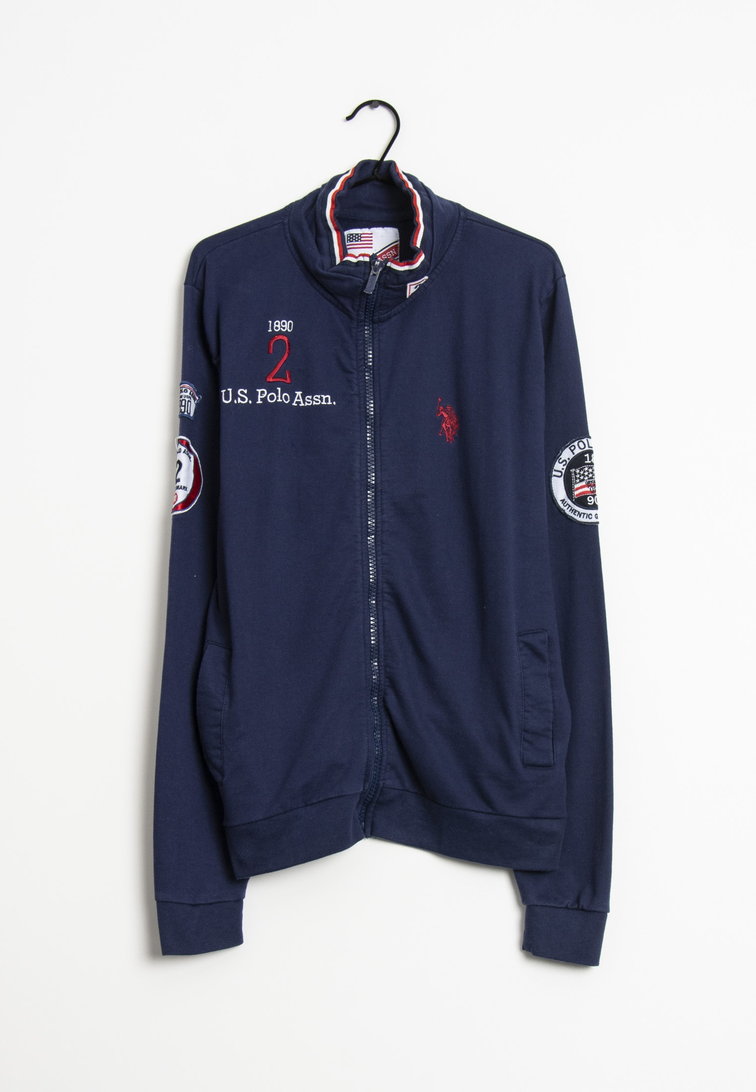 U.S. Polo Assn. Sweat / Fleece Blau Gr.XL