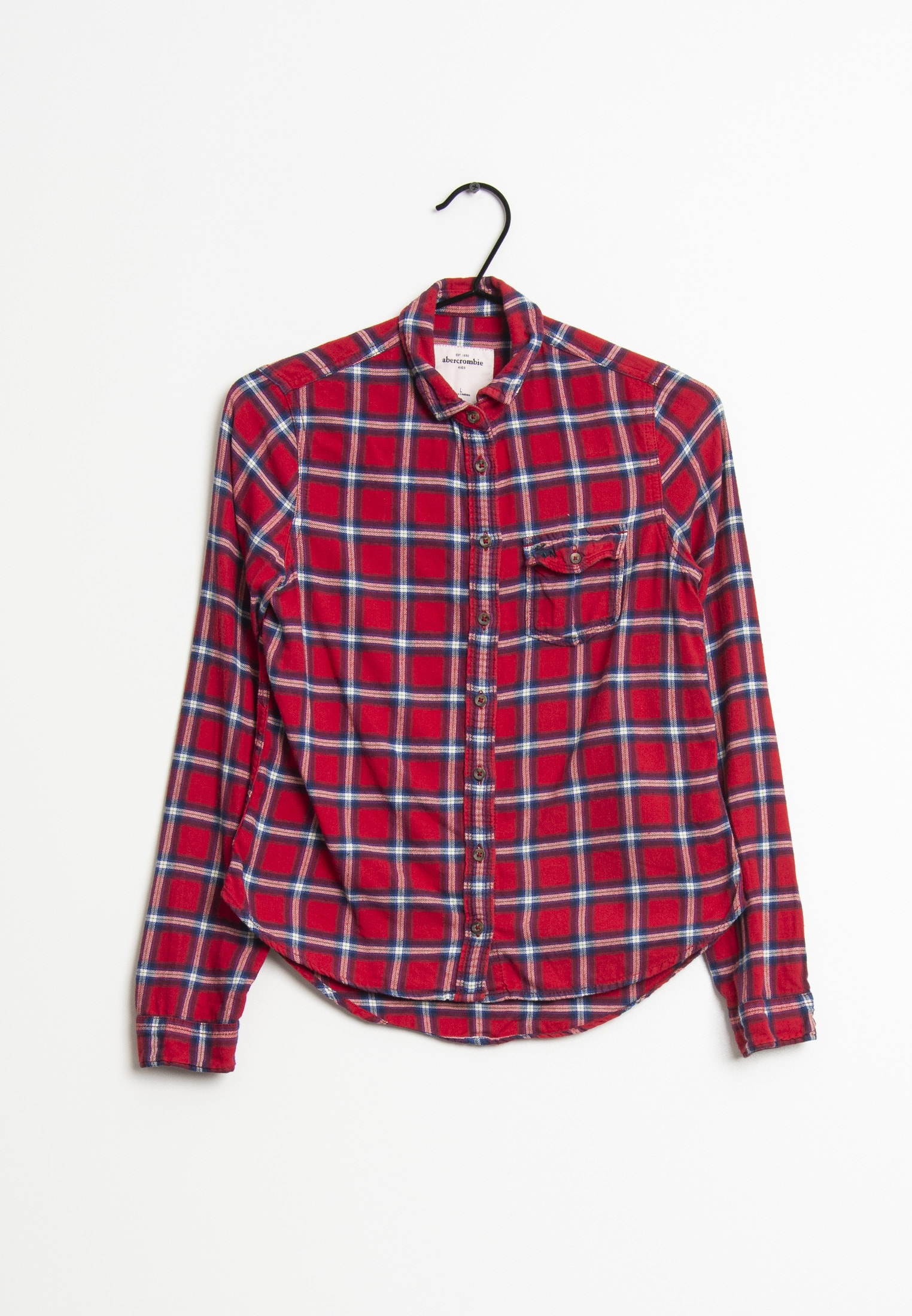 Abercrombie & Fitch Bluse Rot Gr.L