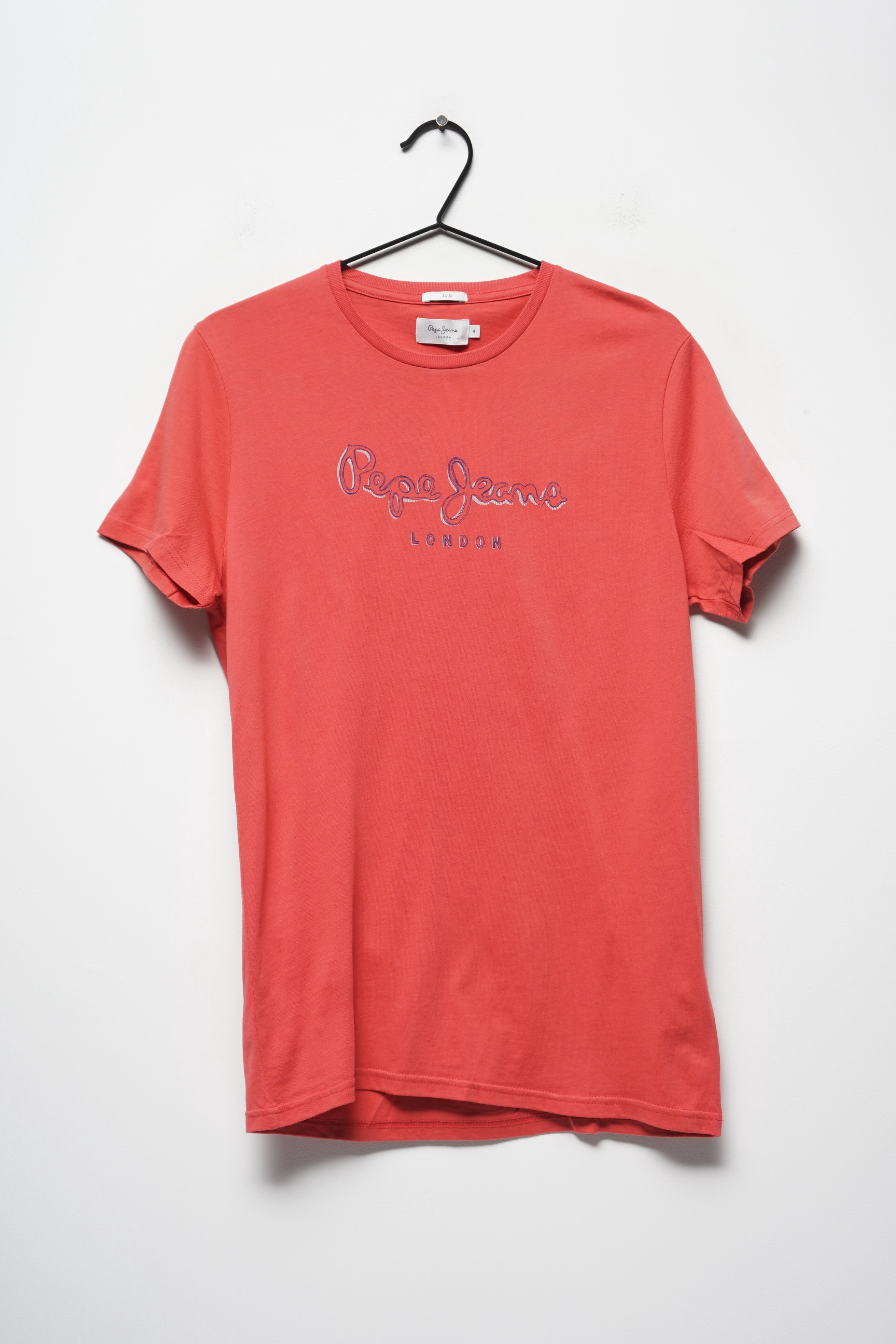 Pepe Jeans T-Shirt Rot Gr.M