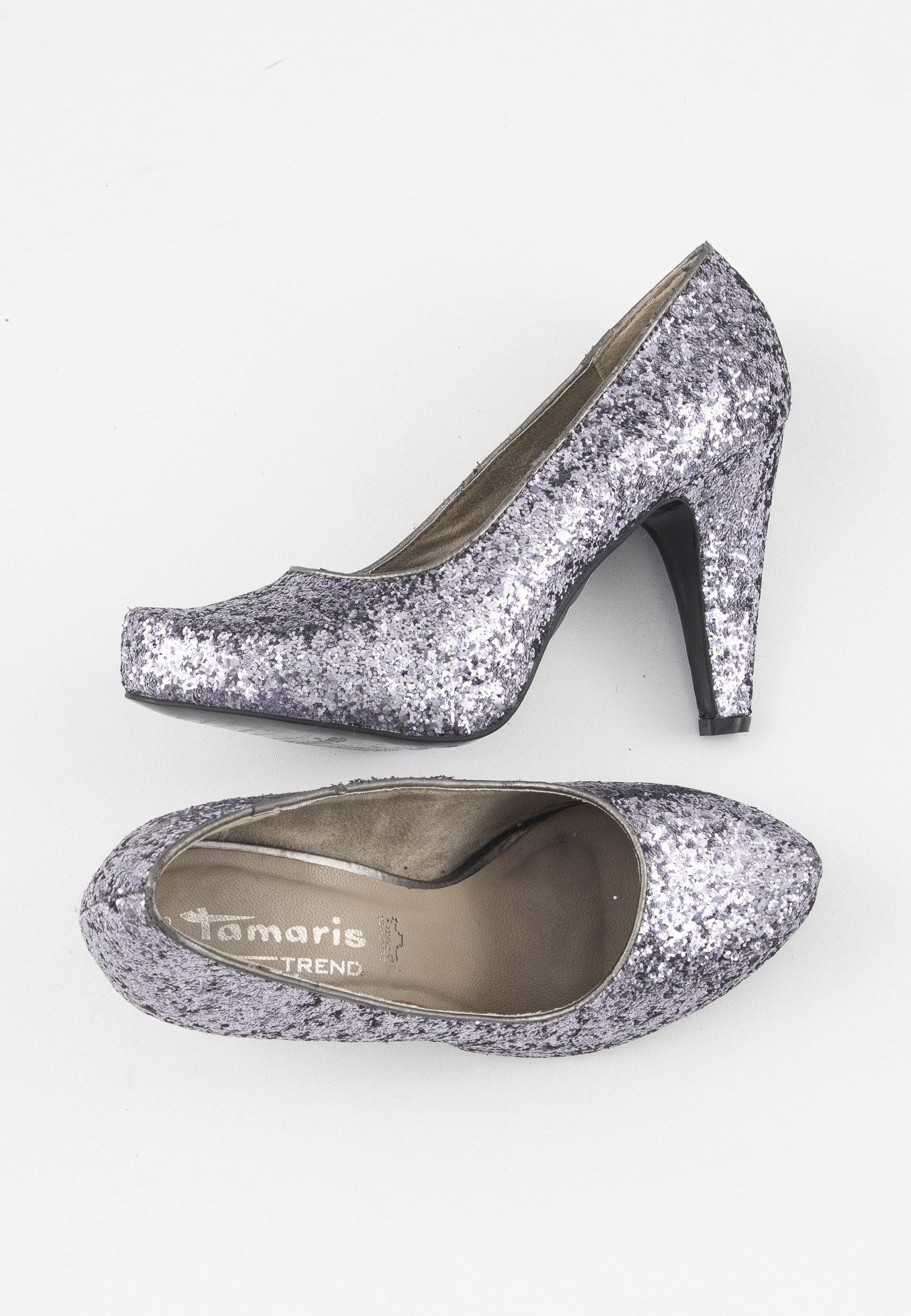 Tamaris pumps, silver, 38