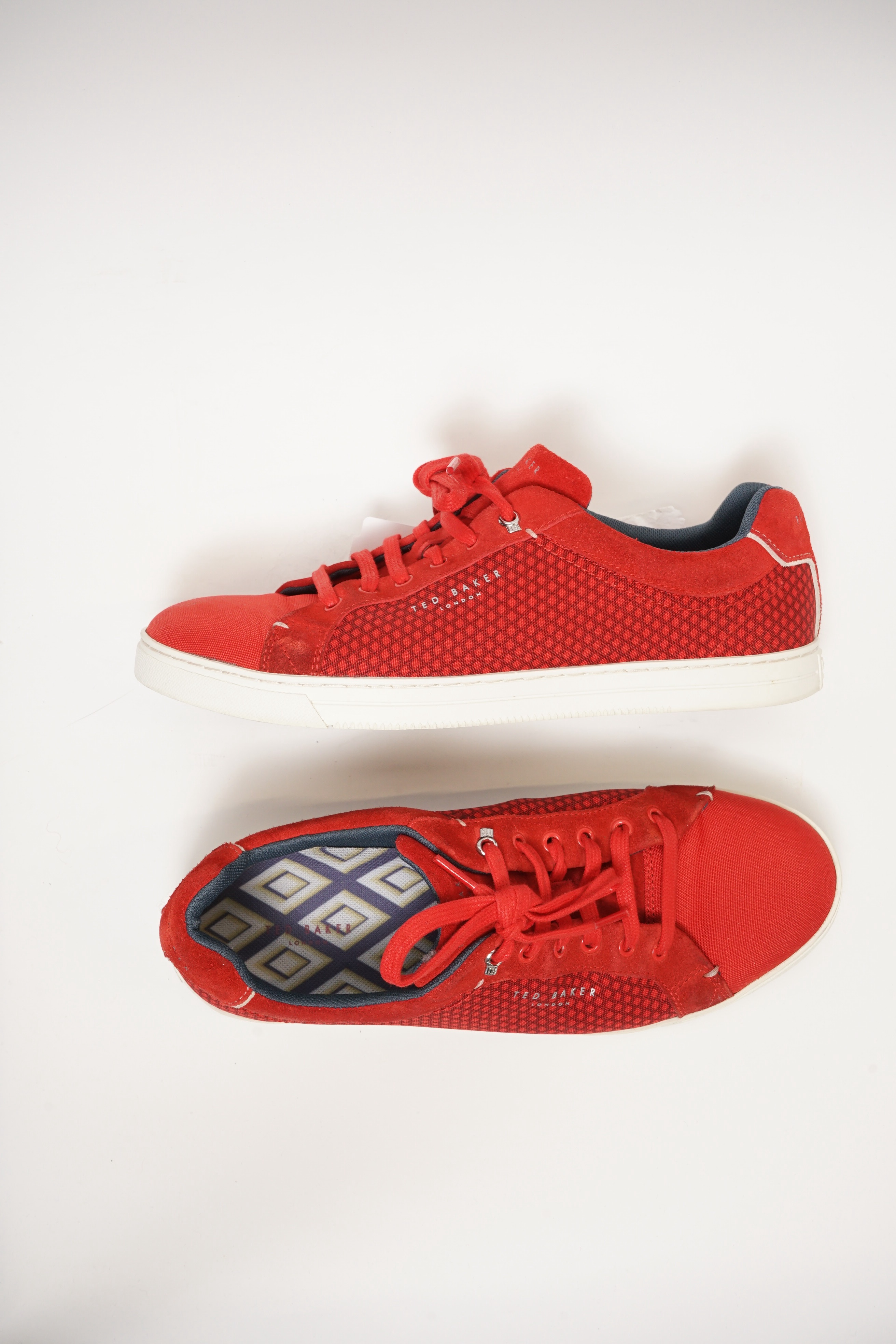 Ted Baker Sneakers Rot Gr.43