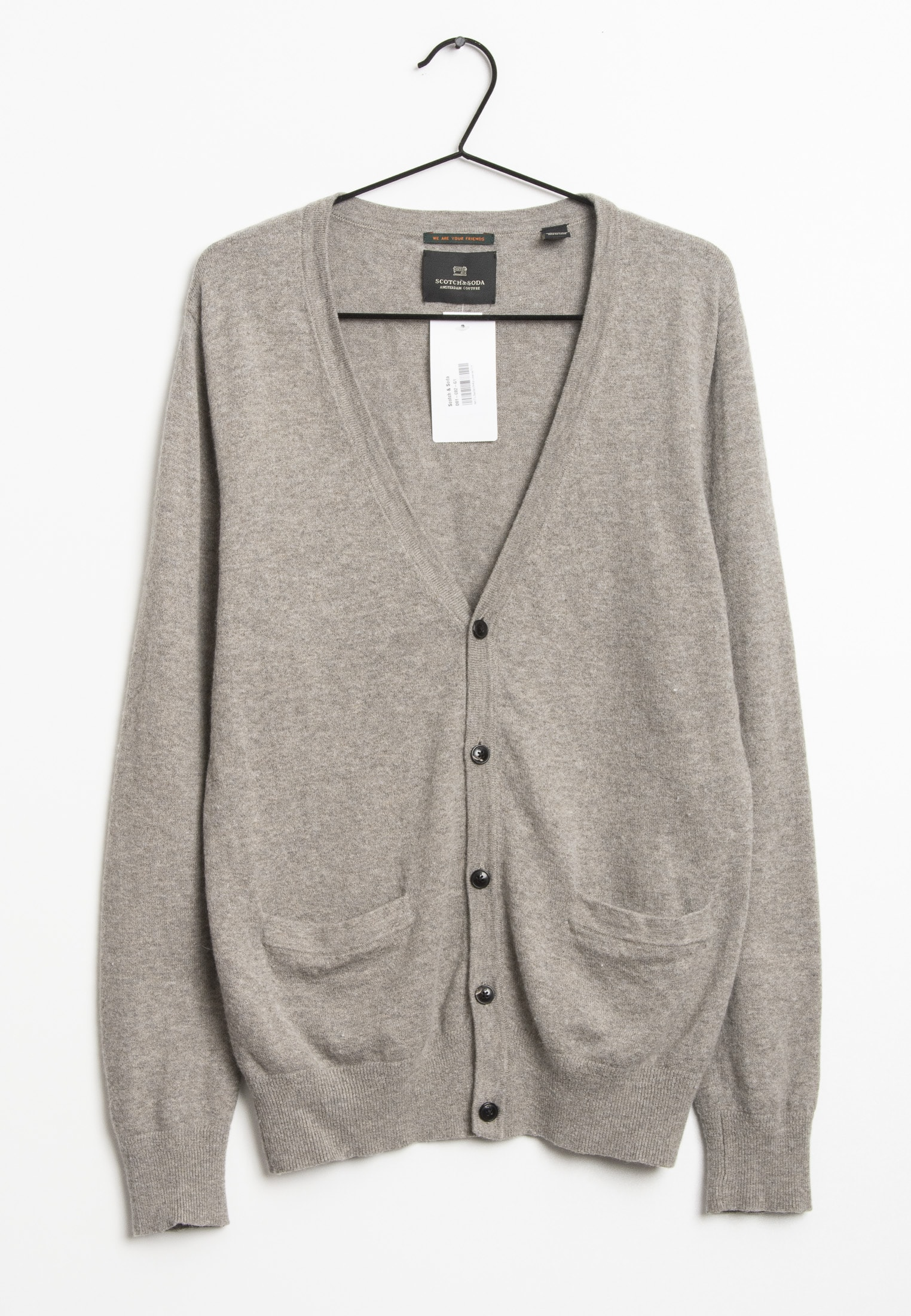 Scotch & Soda cardigan, grå, L