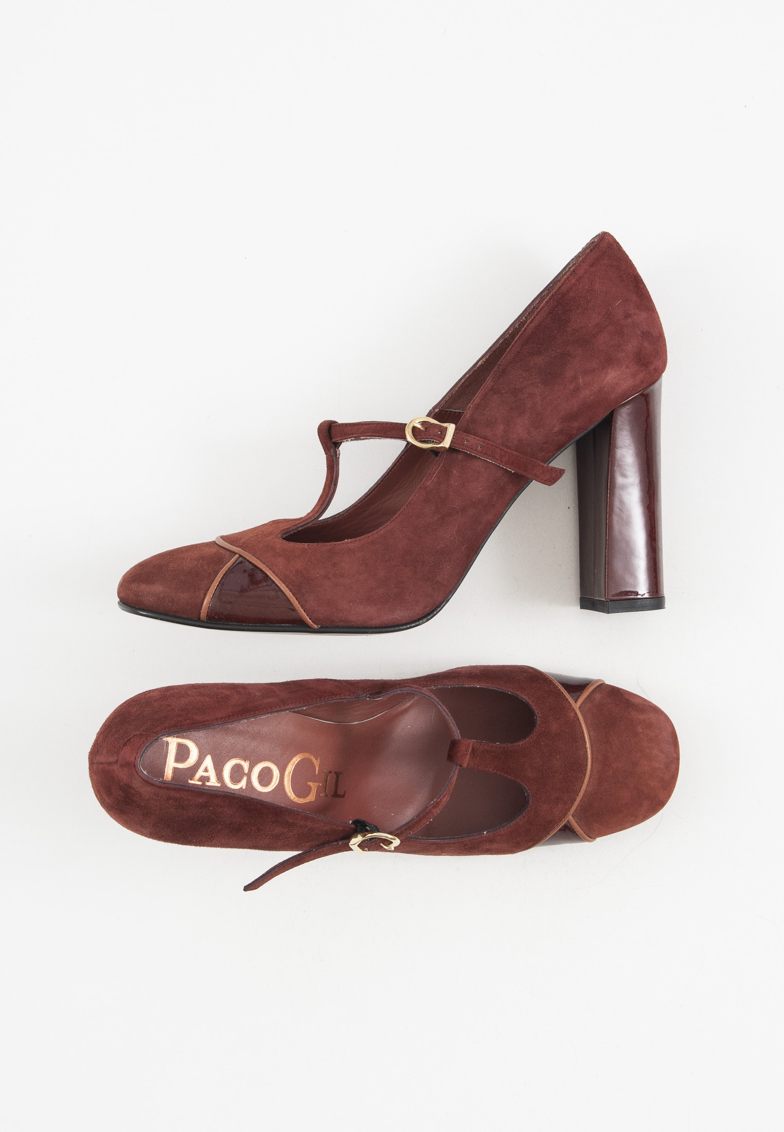 Paco Gil Pumps Rot Gr.40