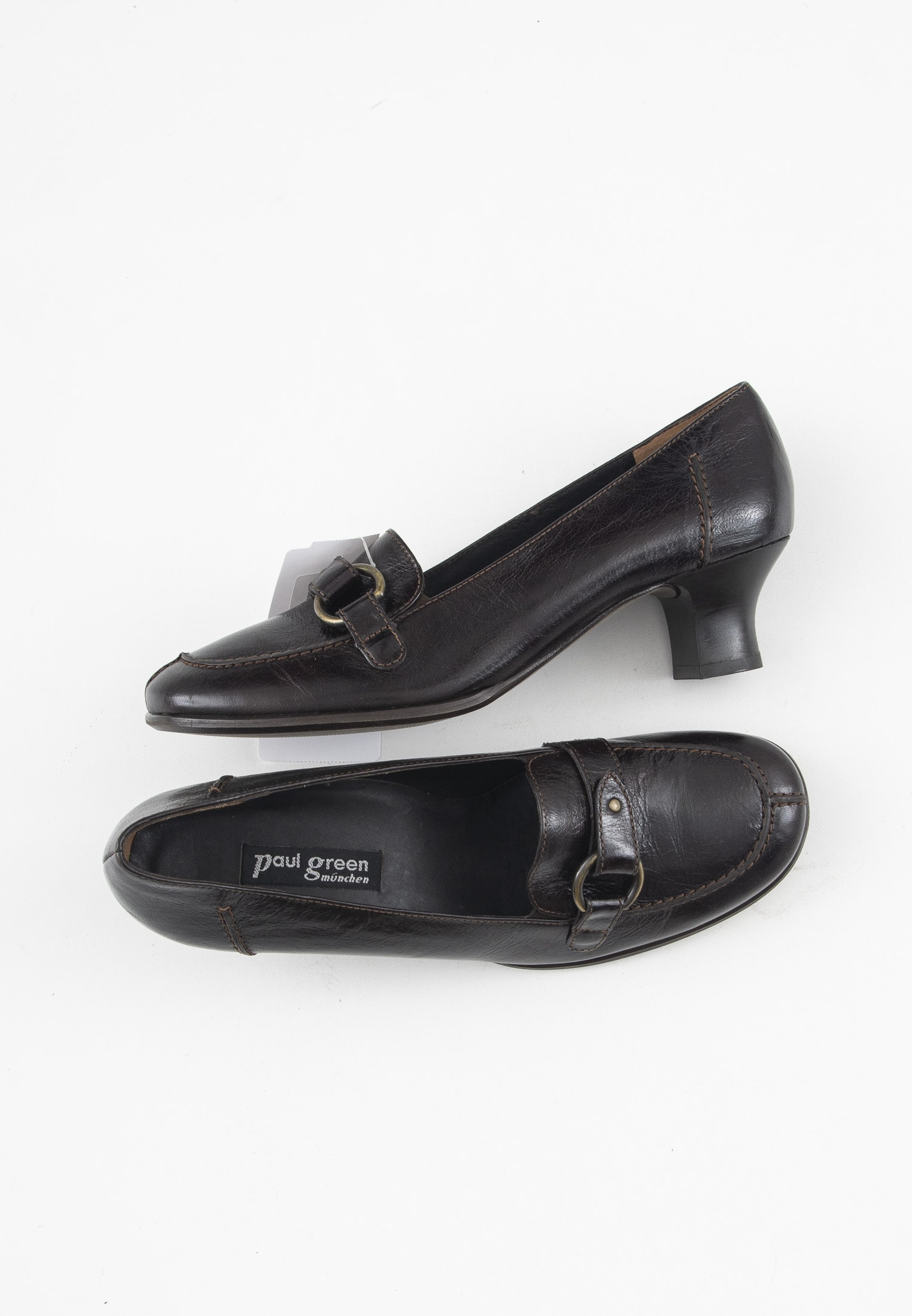 Paul Green pumps, brun, 40