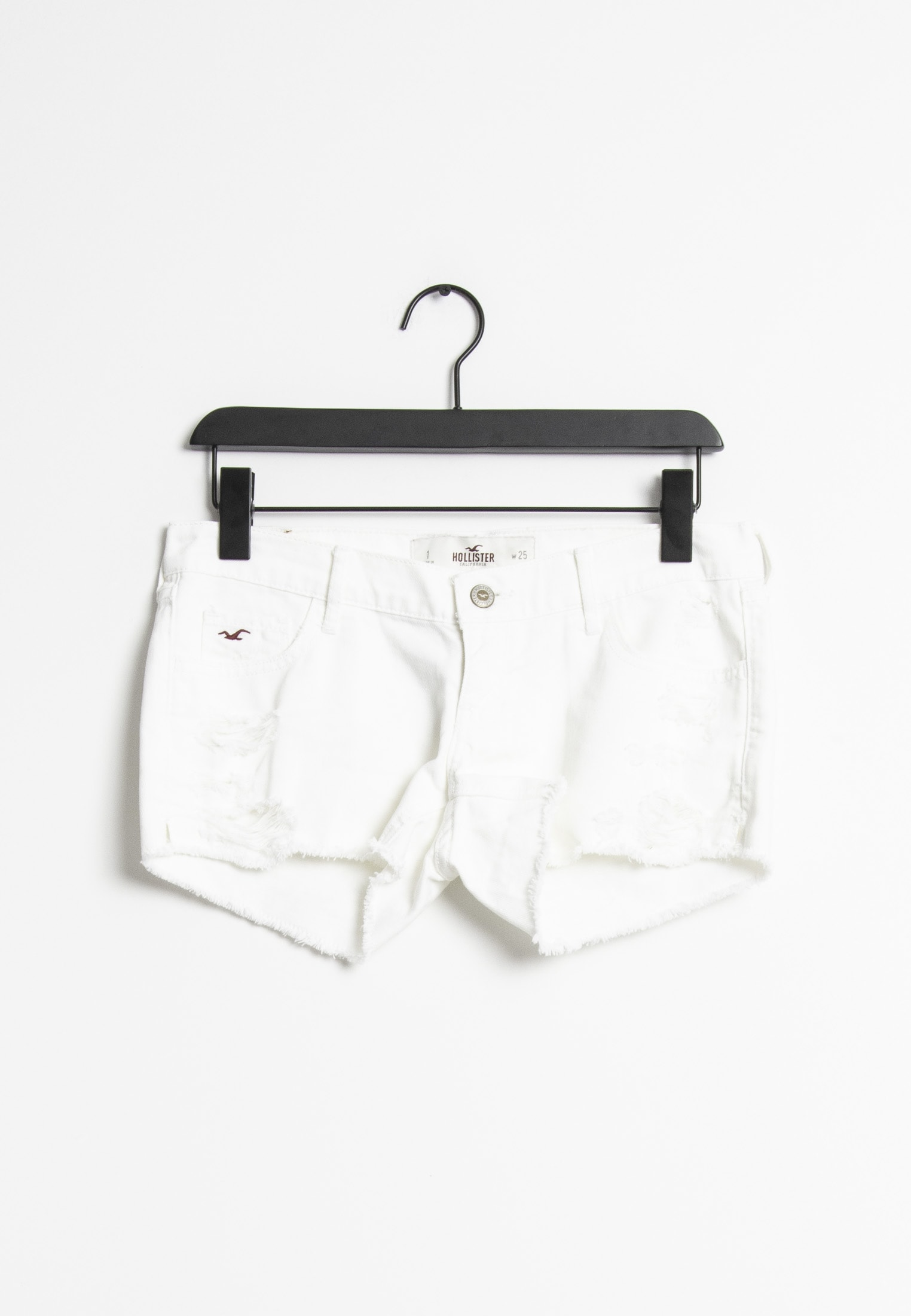 Hollister Co. shorts, hvid, 25