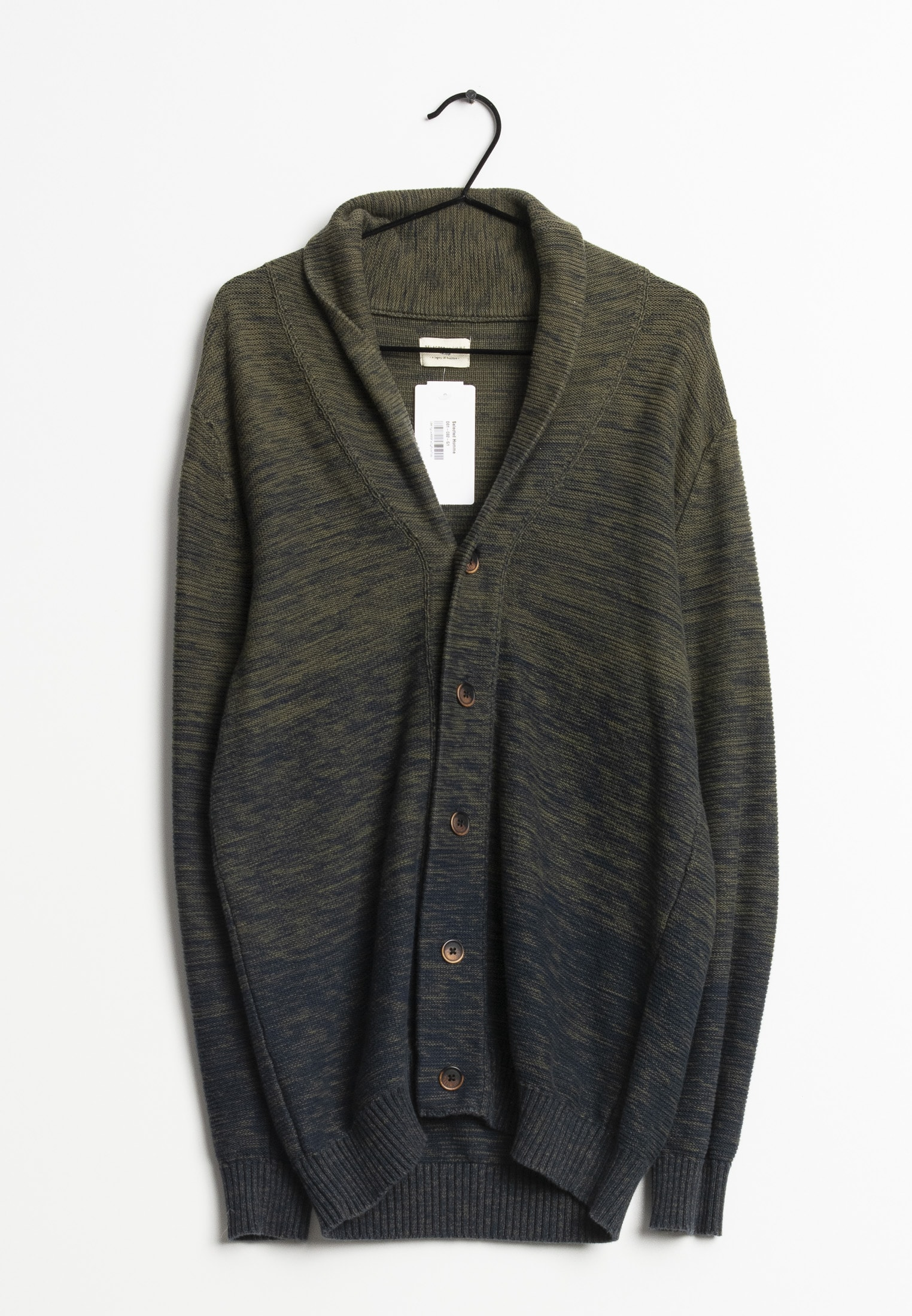 Selected Homme cardigan, grøn, L