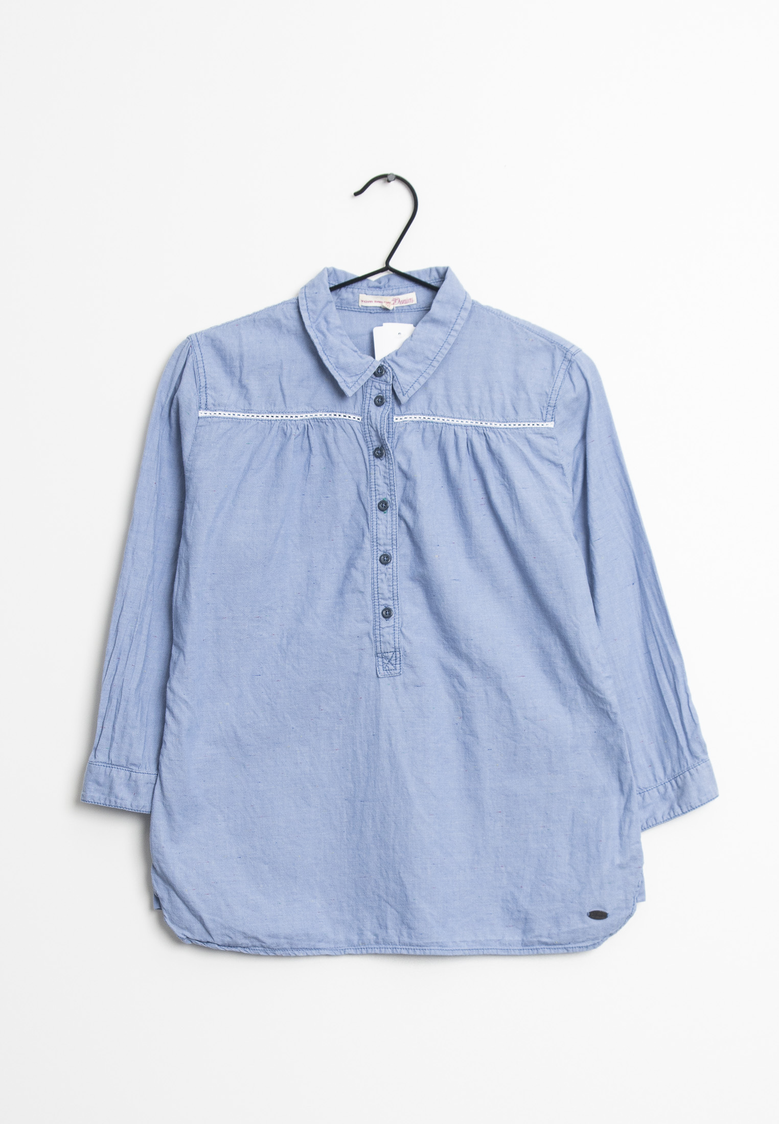 TOM TAILOR DENIM Bluse Blau Gr.M