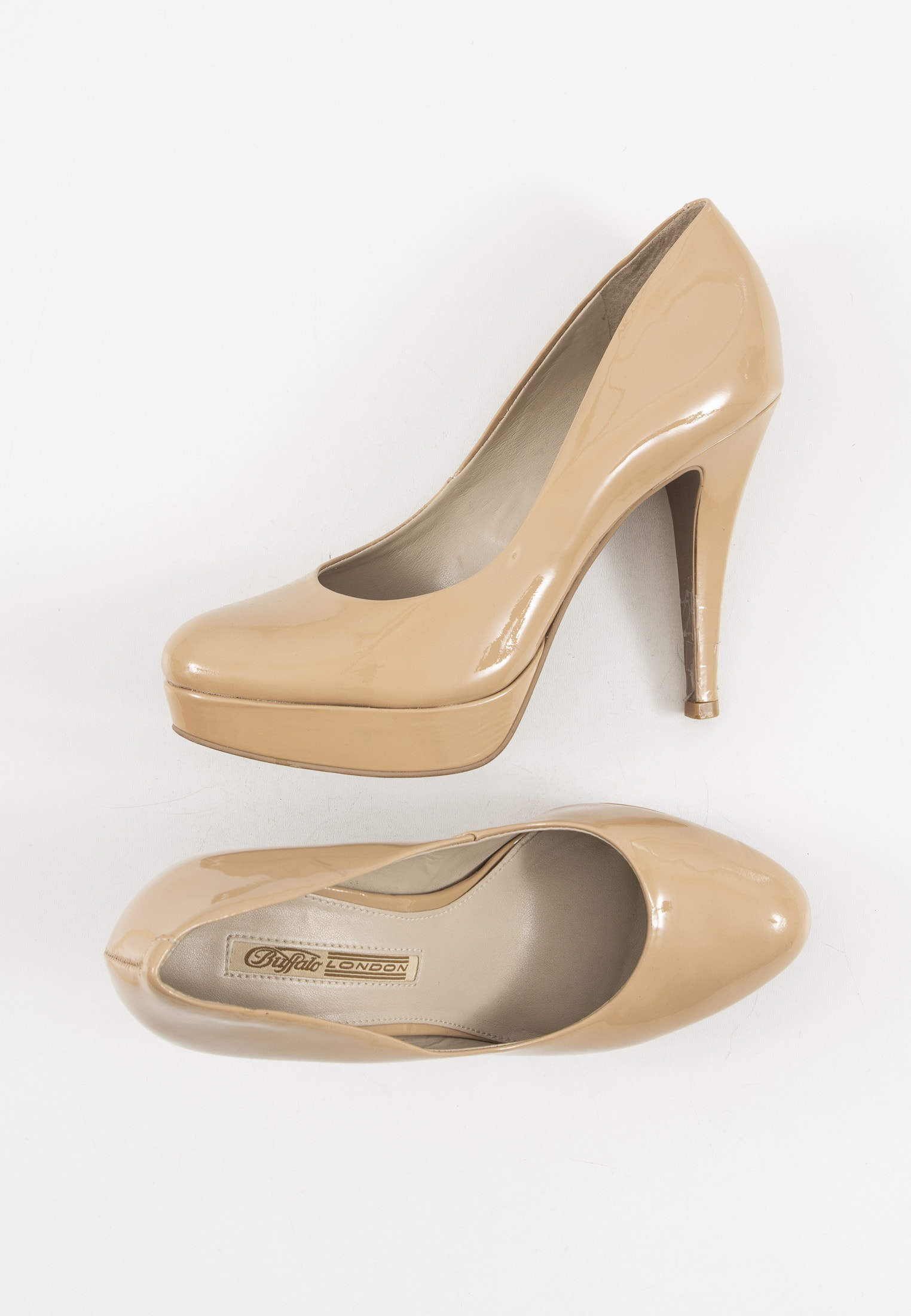Buffalo pumps, beige, 39