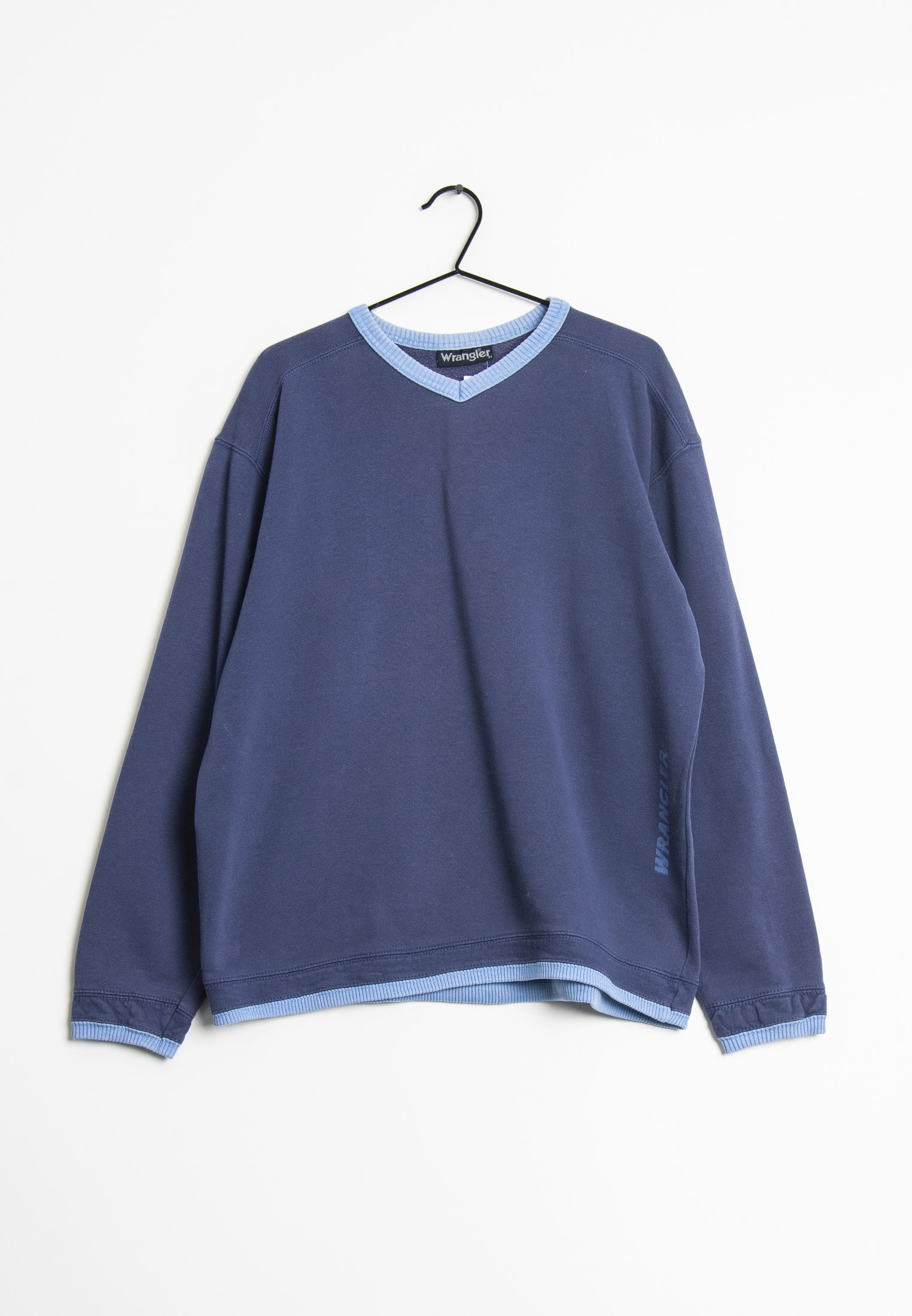 Wrangler Sweat / Fleece Blau Gr.M