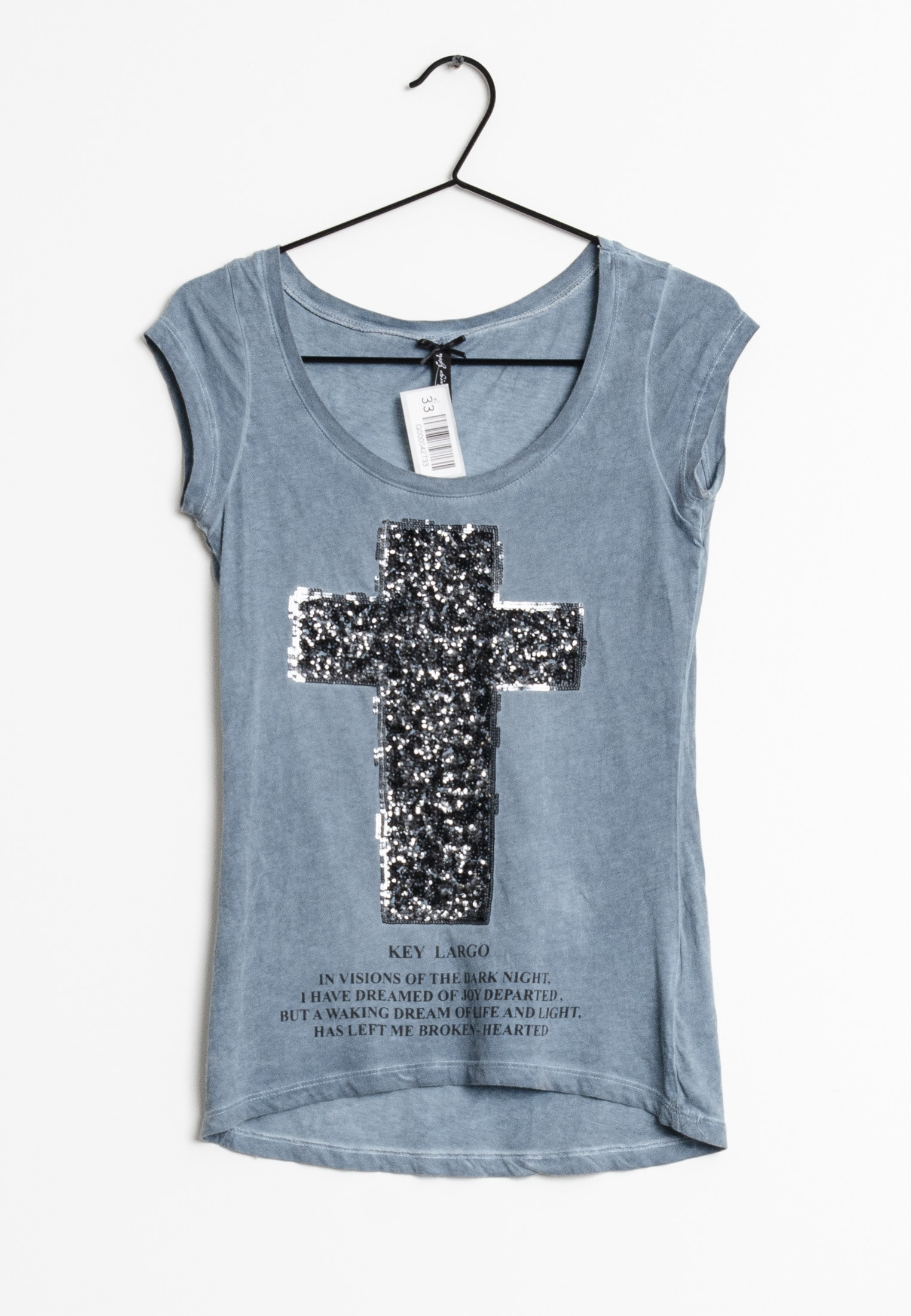 Key Largo T-Shirt Blau Gr.XS