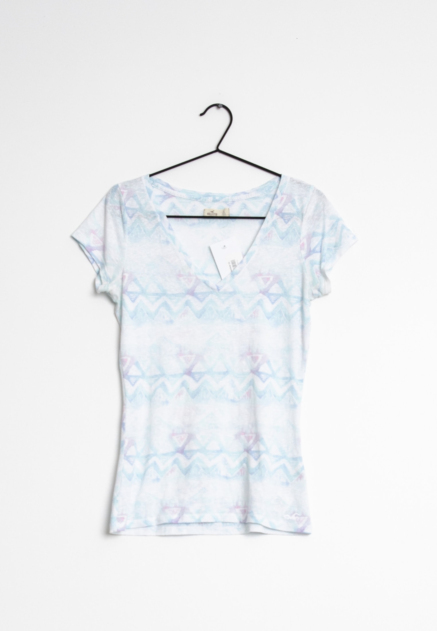 Hollister Co. T-Shirt Blau Gr.S