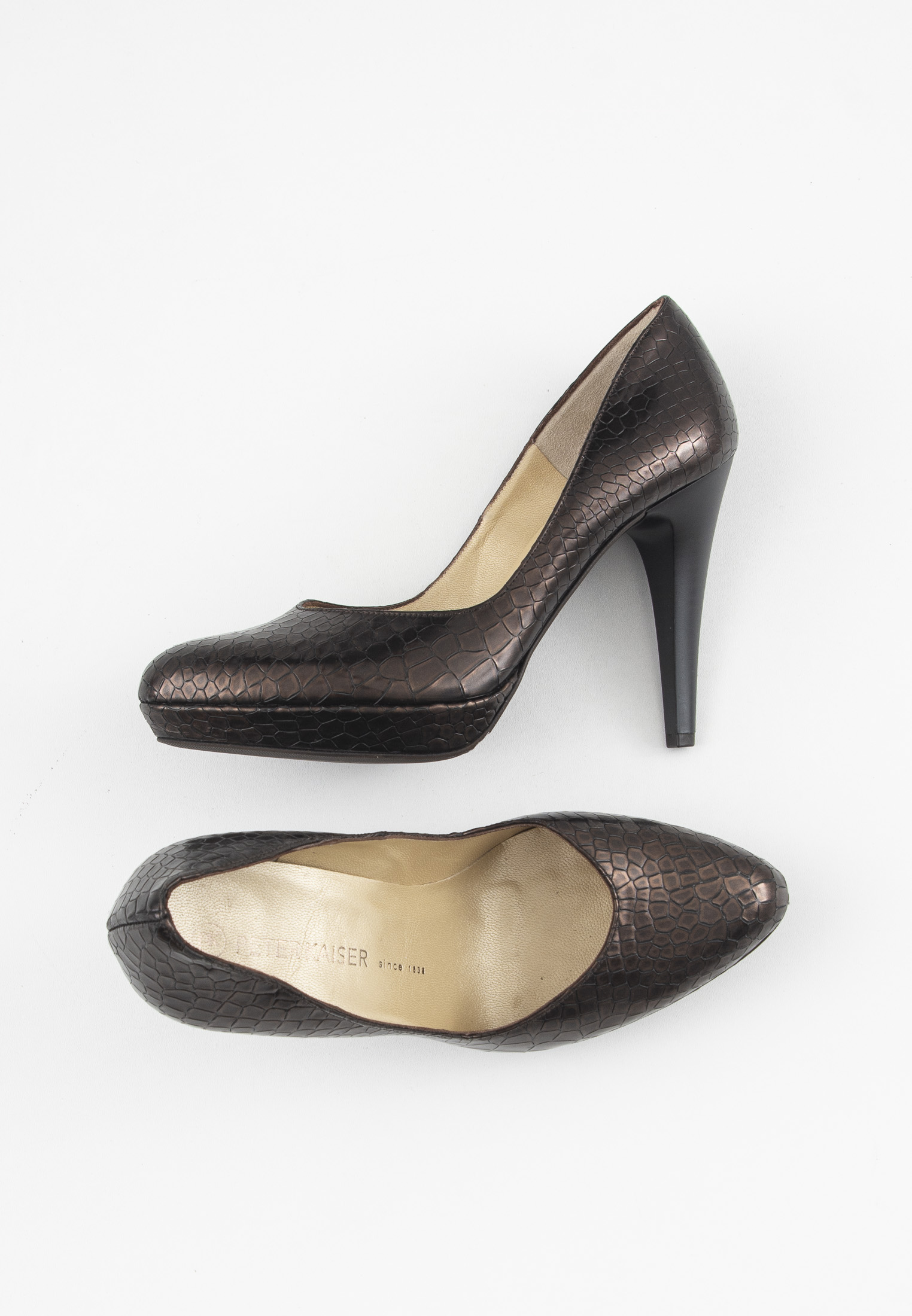Peter Kaiser pumps, brun, 39 1/3