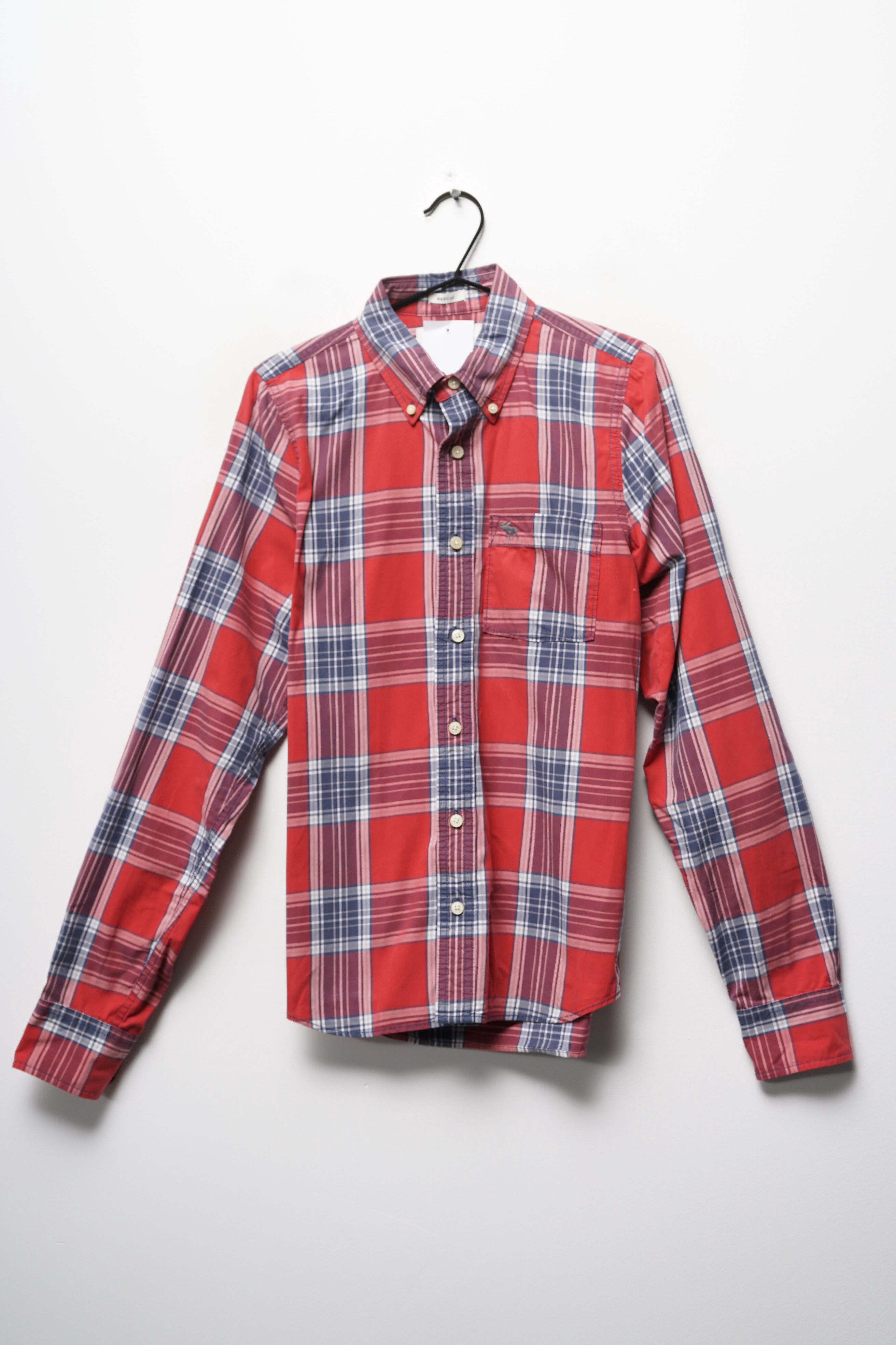 Abercrombie & Fitch Hemd Rot Gr.M