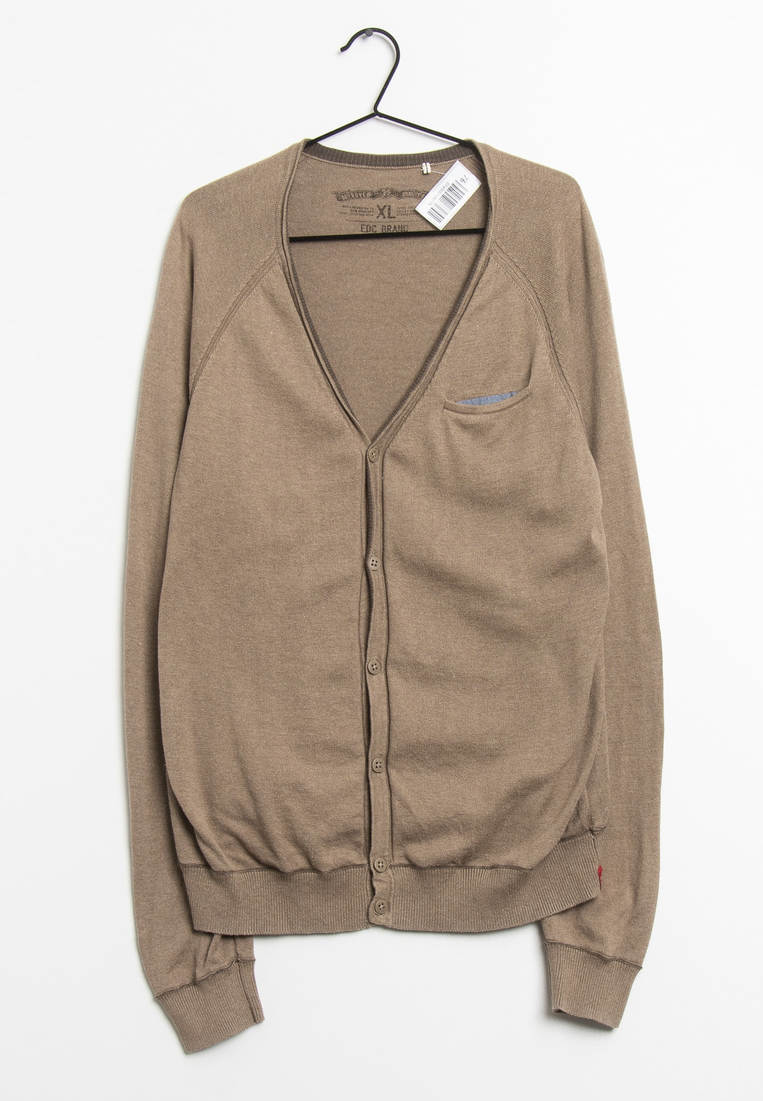 edc by Esprit cardigan, brun, XL
