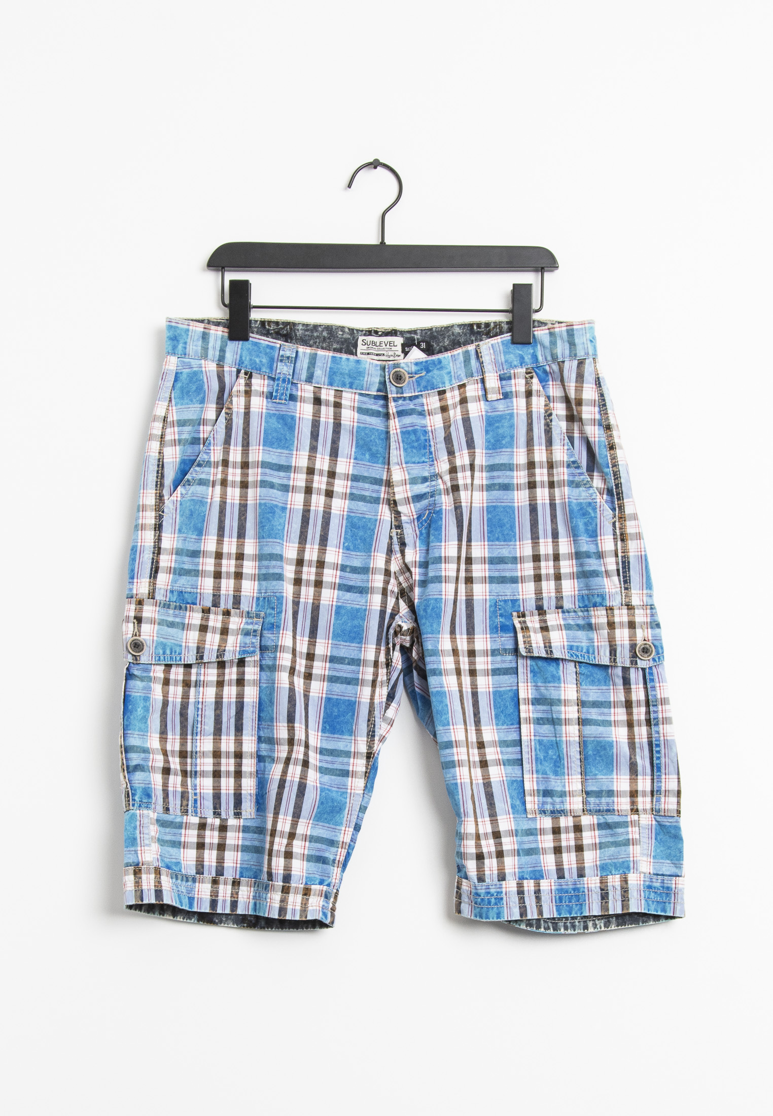 Sublevel Shorts Blau Gr.31