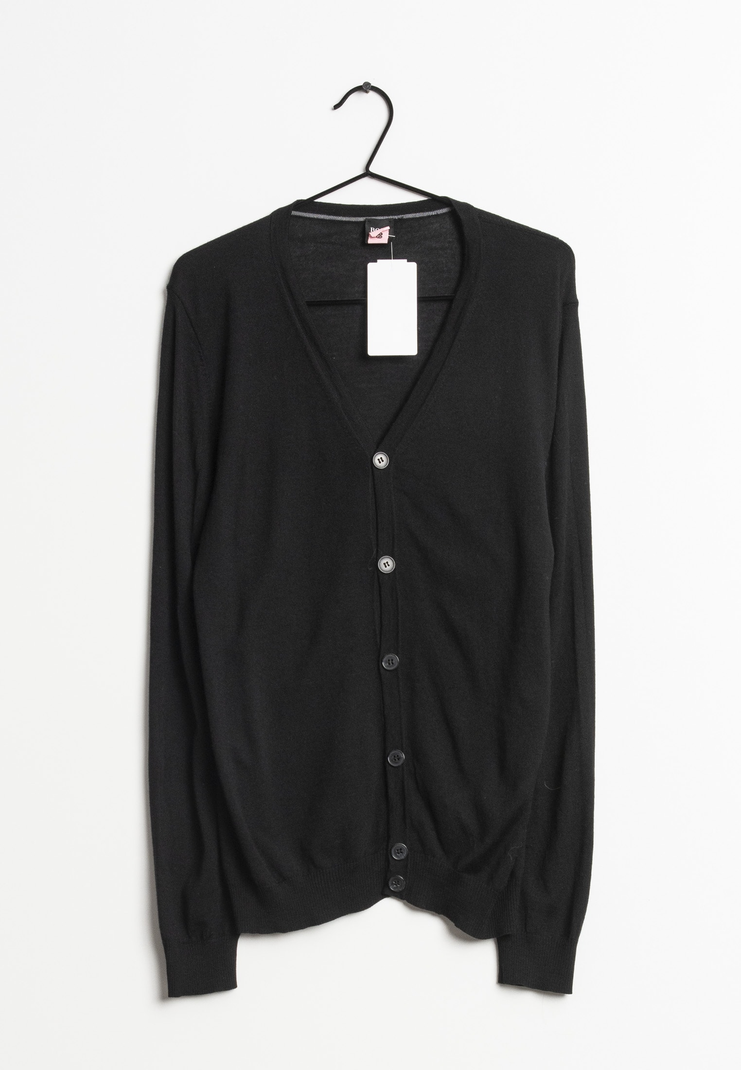 BOSS cardigan, sort, L