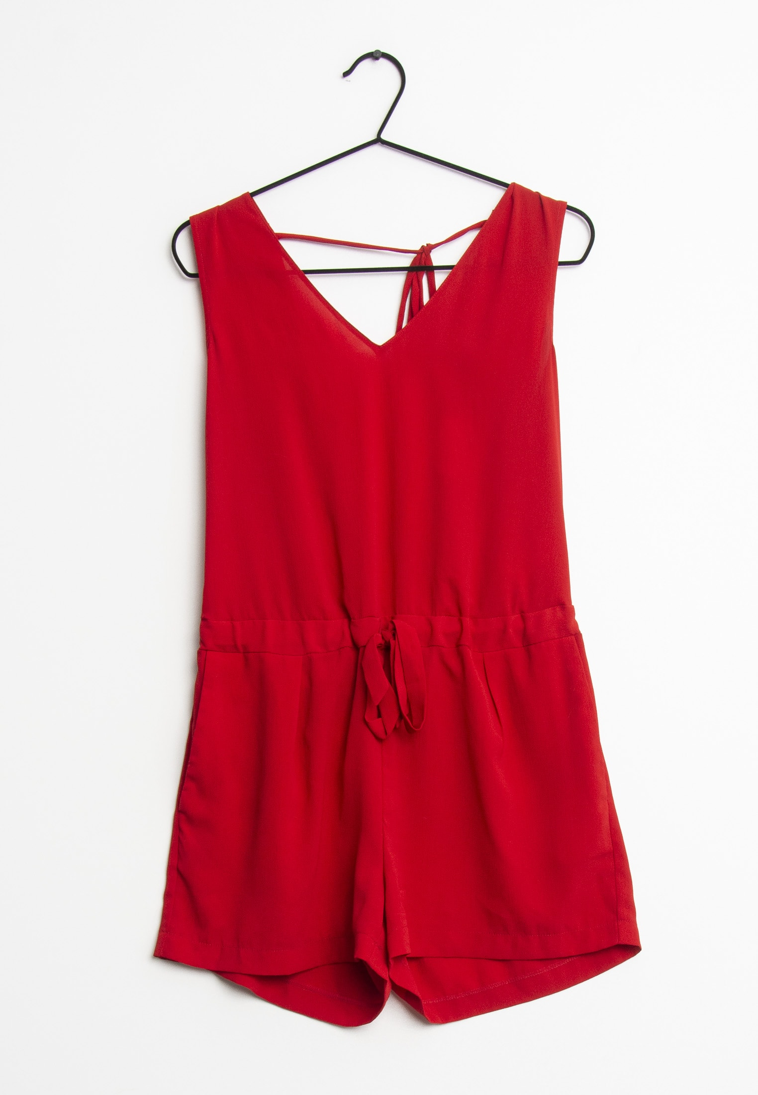 Zara Jumpsuit / Overall Rot Gr.XS