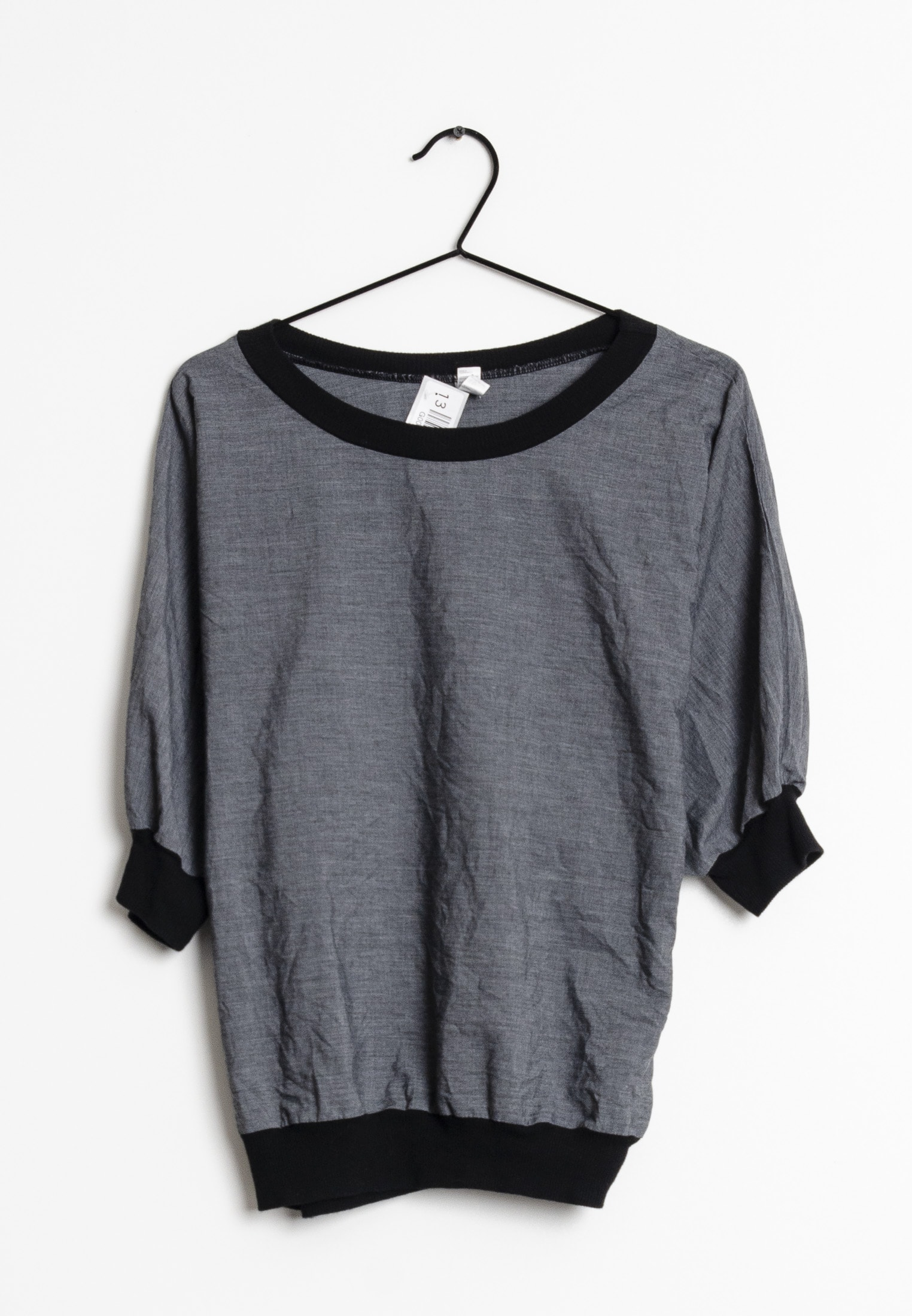 American Apparel T-Shirt Blau Gr.One Size