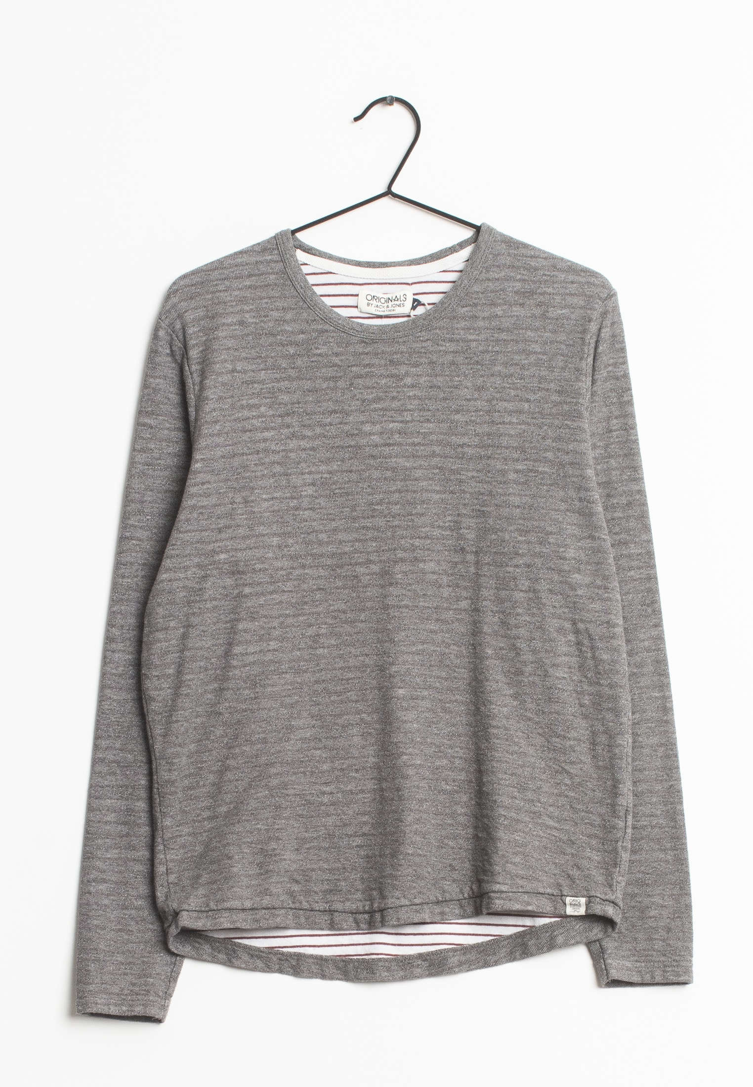 Jack & Jones Strickpullover Grau Gr.M