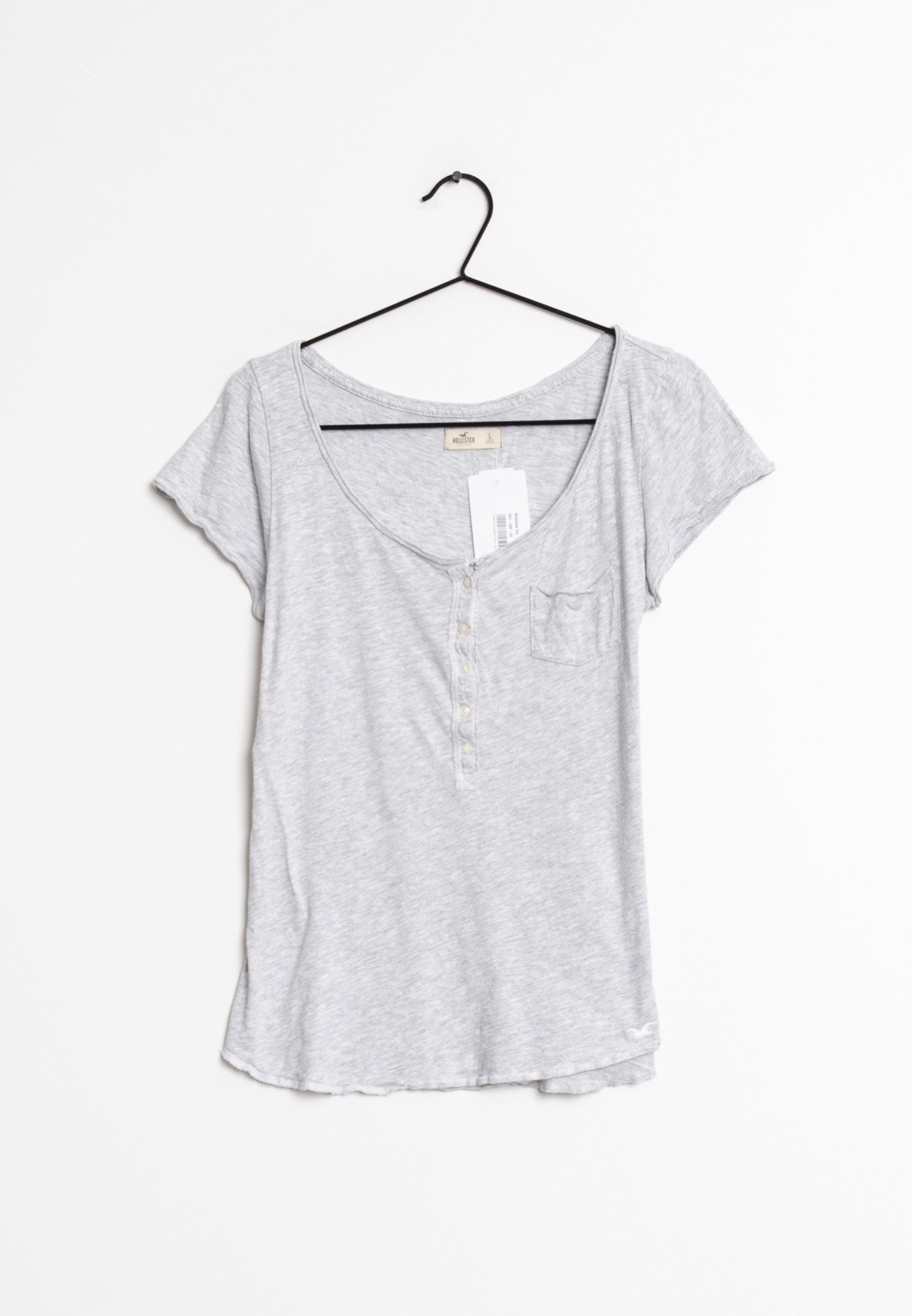 Hollister Co. T-Shirt Grau Gr.L